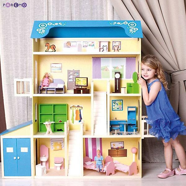 Купить Домик для Барби Лира , с аксессуарами, PAREMO, Россия, Женский