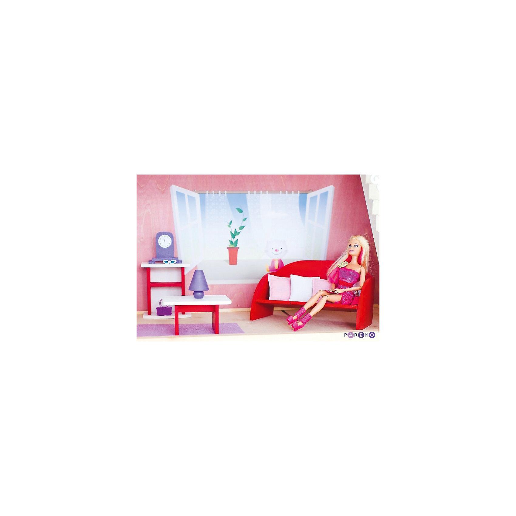 """Набор текстиля для розовых домиков, """"Вдохновение"""", PAREMO от myToys"""