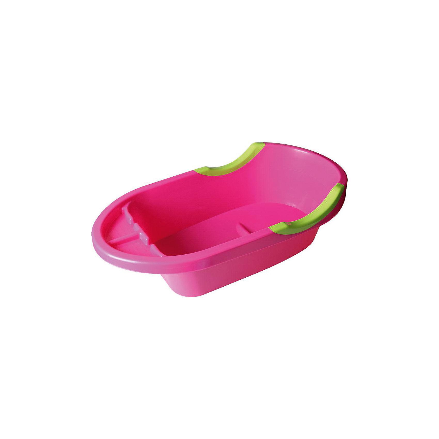Ванна детская большая Малышок люкс ,  Alternativa, роз.Ванны, горки, сиденья<br>Малышок люкс - объемная ванночка для детей. Благодаря большому размеру, в ванне можно купать и новорожденных, и подросших малышей, умеющих сидеть. С одной стороны ванночки есть удобная подставка для шампуня, пенки или игрушек. Дно оснащено выступом в форме сидения. Бортики имеют углубления для ручек крохи. Такую практичную ванночку по достоинству оценят и малыши, и взрослые! <br><br>Дополнительная информация:<br>Цвет: розовый<br>Размер: 90,4х47,5х25,5 см<br><br>Большую детскую ванну Малышок люкс можно приобрести в нашем интернет-магазине.<br><br>Ширина мм: 904<br>Глубина мм: 475<br>Высота мм: 255<br>Вес г: 1392<br>Возраст от месяцев: 0<br>Возраст до месяцев: 6<br>Пол: Унисекс<br>Возраст: Детский<br>SKU: 4979674
