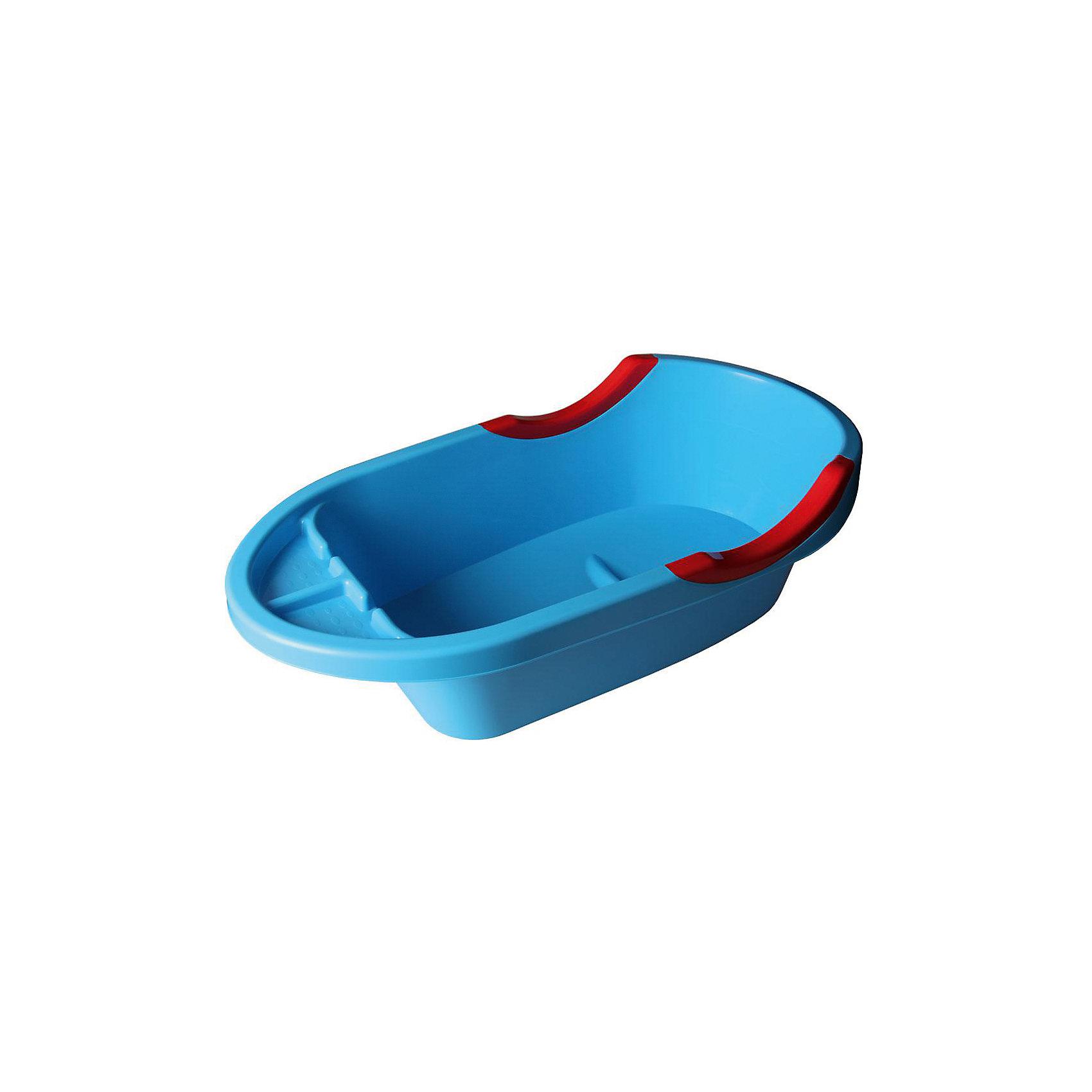 Ванна детская большая Малышок люкс ,  Alternativa, син.Малышок люкс - объемная ванночка для детей. Благодаря большому размеру, в ванне можно купать и новорожденных, и подросших малышей, умеющих сидеть. С одной стороны ванночки есть удобная подставка для шампуня, пенки или игрушек. Дно оснащено выступом в форме сидения. Бортики имеют углубления для ручек крохи. Такую практичную ванночку по достоинству оценят и малыши, и взрослые! <br><br>Дополнительная информация:<br>Цвет: синий<br>Размер: 90,4х47,5х25,5 см<br><br>Большую детскую ванну Малышок люкс можно приобрести в нашем интернет-магазине.<br><br>Ширина мм: 904<br>Глубина мм: 475<br>Высота мм: 255<br>Вес г: 1392<br>Возраст от месяцев: 0<br>Возраст до месяцев: 6<br>Пол: Унисекс<br>Возраст: Детский<br>SKU: 4979675