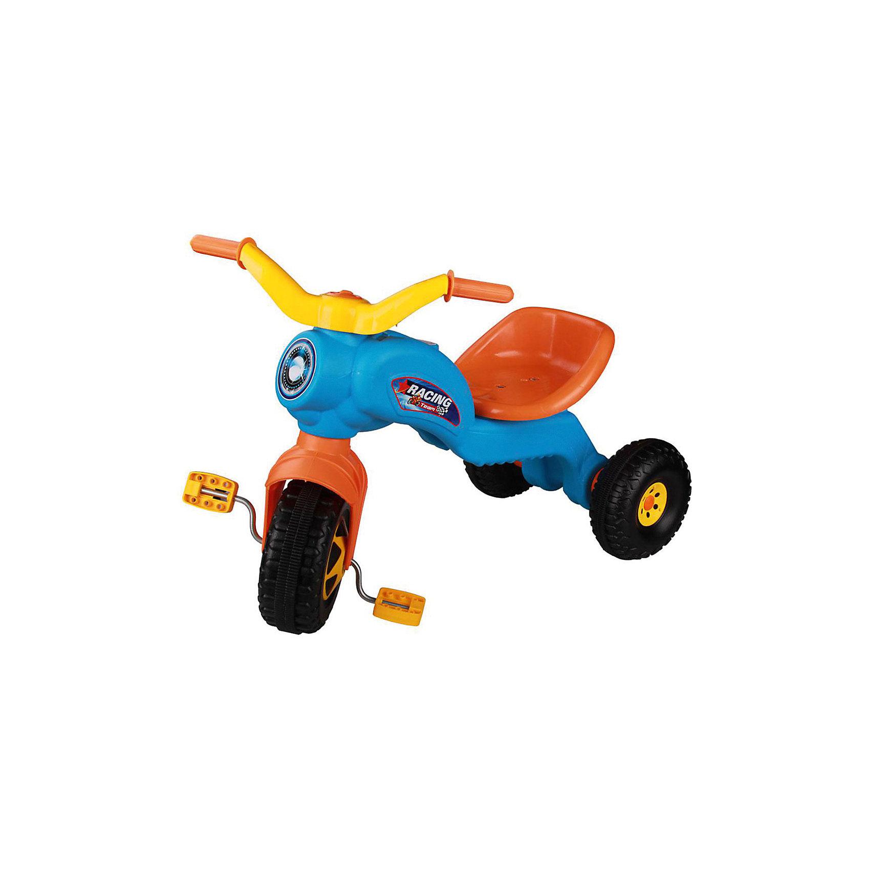 Велосипед трехколесный Чемпион ,  Alternativa, голубойТрехколесный велосипед Чемпион отлично подойдет в качестве первого транспорта малыша. Модель имеет удобное сидение и наклейки в виде фары. Велосипед очень компактный, его легко можно взять с собой на прогулку. Приятный дизайн понравится малышу, и он с удовольствием будет учиться кататься!<br><br>Дополнительная информация:<br>Цвет: голубой<br>Размеры: 69х39,7х49,5 см<br>Материал: пластик, металл<br><br>Трехколесный велосипед Чемпион можно купить в нашем интернет-магазине.<br><br>Ширина мм: 690<br>Глубина мм: 397<br>Высота мм: 495<br>Вес г: 2044<br>Возраст от месяцев: 36<br>Возраст до месяцев: 144<br>Пол: Унисекс<br>Возраст: Детский<br>SKU: 4979679