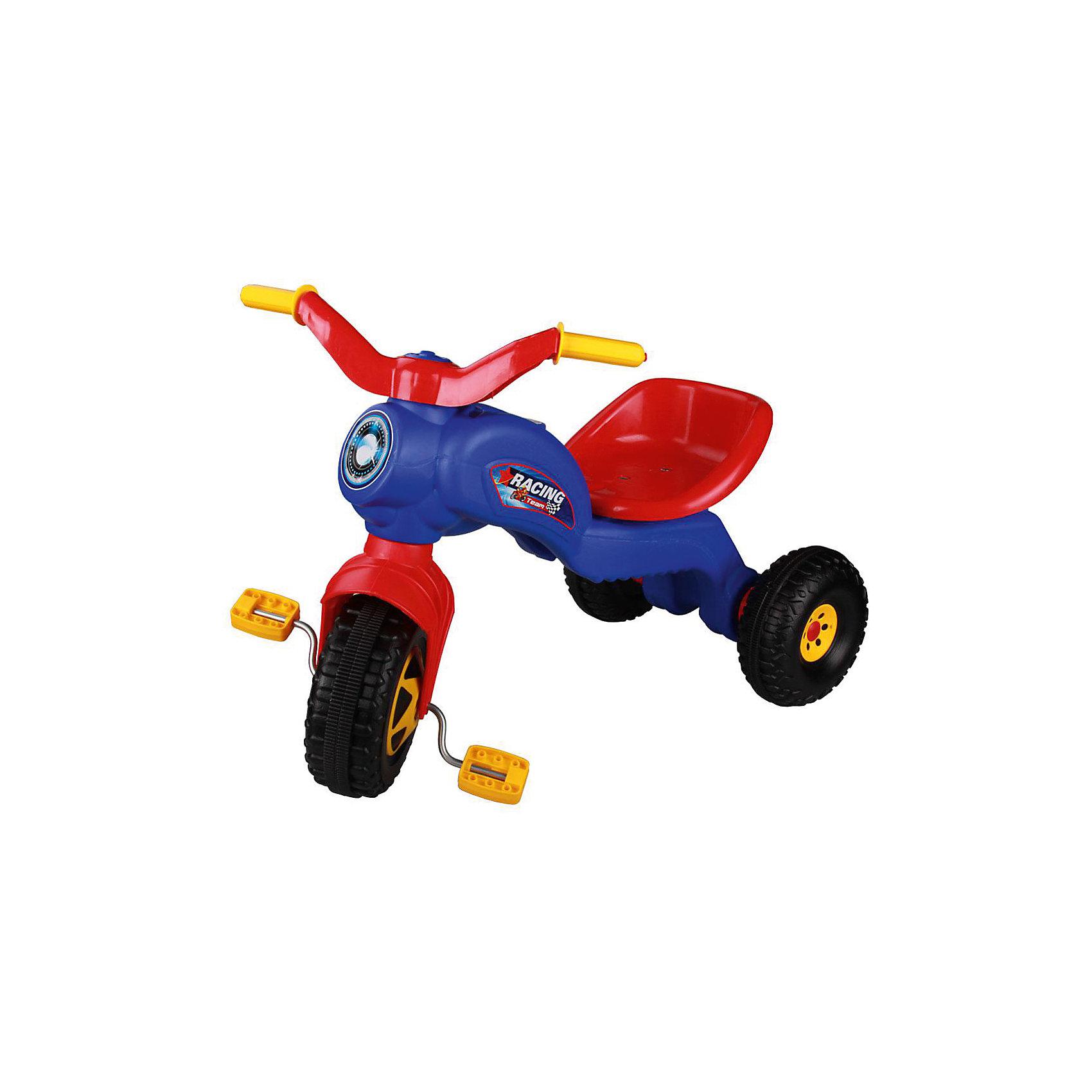 Велосипед трехколесный Чемпион ,  Alternativa, синийТрехколесный велосипед Чемпион отлично подойдет в качестве первого транспорта малыша. Модель имеет удобное сидение и наклейки в виде фары. Велосипед очень компактный, его легко можно взять с собой на прогулку. Приятный дизайн понравится малышу, и он с удовольствием будет учиться кататься!<br><br>Дополнительная информация:<br>Цвет: синий<br>Размеры: 69х39,7х49,5 см<br>Материал: пластик, металл<br><br>Трехколесный велосипед Чемпион можно купить в нашем интернет-магазине.<br><br>Ширина мм: 690<br>Глубина мм: 397<br>Высота мм: 495<br>Вес г: 2044<br>Возраст от месяцев: 36<br>Возраст до месяцев: 144<br>Пол: Унисекс<br>Возраст: Детский<br>SKU: 4979681