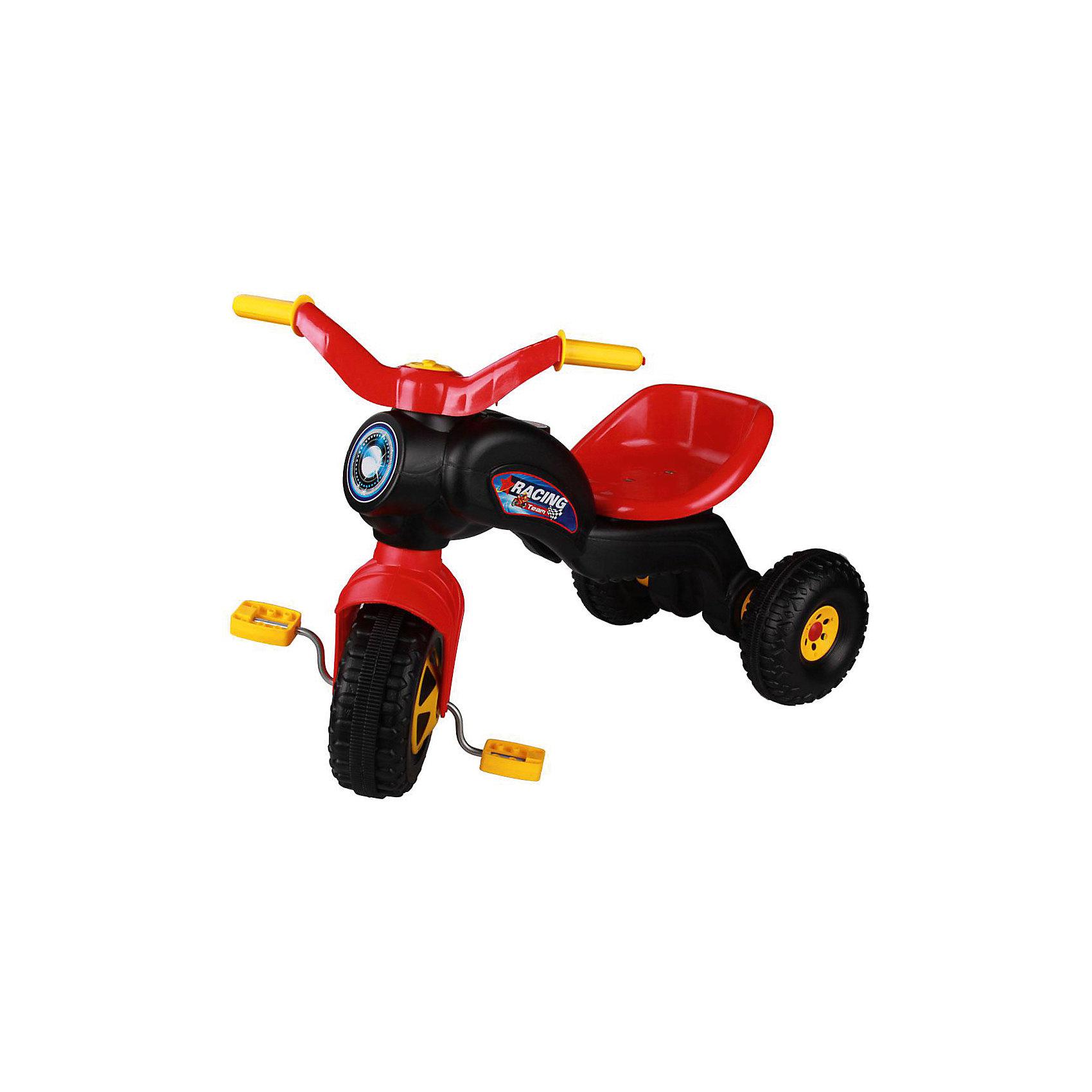 Велосипед трехколесный Чемпион ,  Alternativa, черныйТрехколесный велосипед Чемпион отлично подойдет в качестве первого транспорта малыша. Модель имеет удобное сидение и наклейки в виде фары. Велосипед очень компактный, его легко можно взять с собой на прогулку. Приятный дизайн понравится малышу, и он с удовольствием будет учиться кататься!<br><br>Дополнительная информация:<br>Цвет: черный<br>Размеры: 69х39,7х49,5 см<br>Материал: пластик, металл<br><br>Трехколесный велосипед Чемпион можно купить в нашем интернет-магазине.<br><br>Ширина мм: 690<br>Глубина мм: 397<br>Высота мм: 495<br>Вес г: 2044<br>Возраст от месяцев: 36<br>Возраст до месяцев: 144<br>Пол: Унисекс<br>Возраст: Детский<br>SKU: 4979682