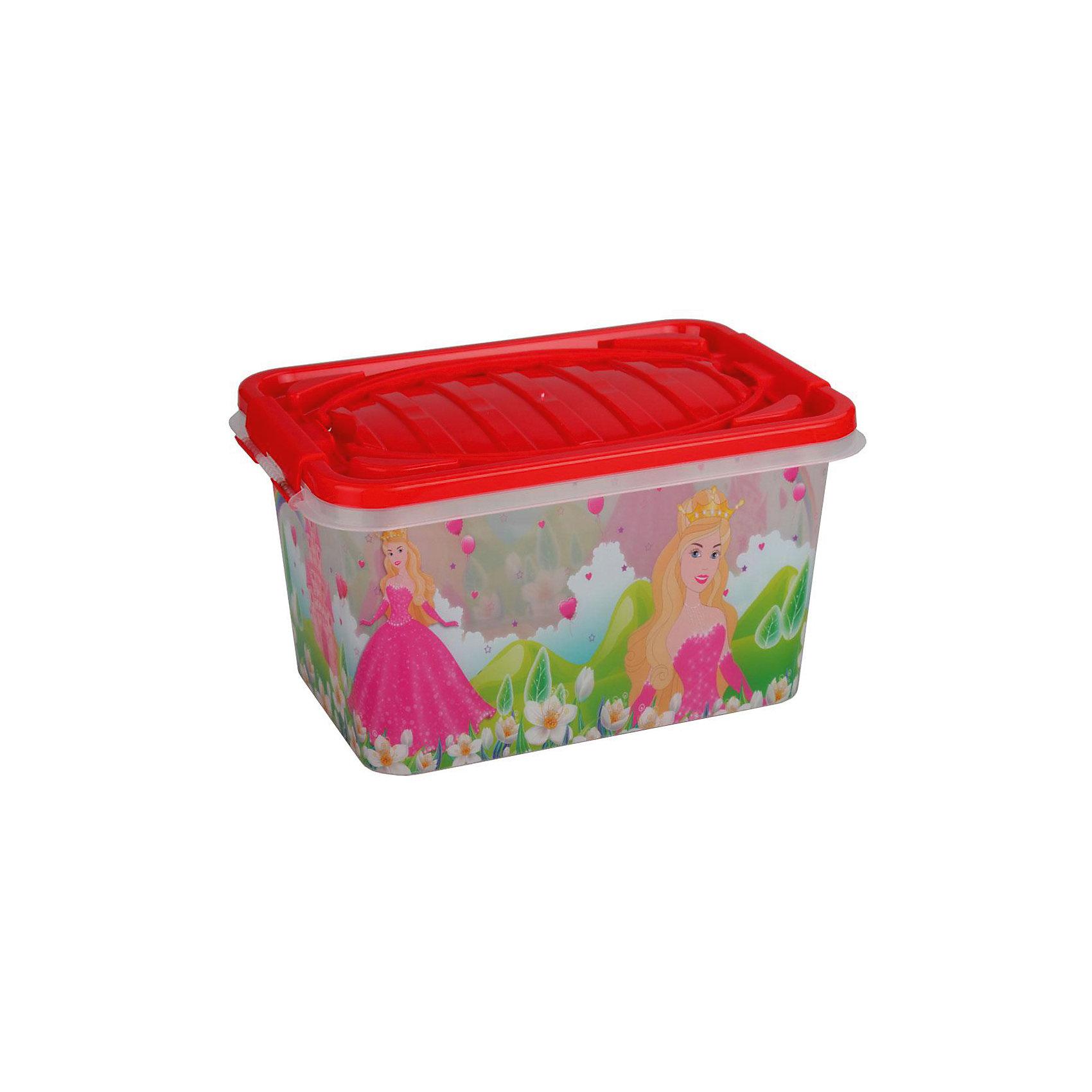 Контейнер Принцесса прямоугольный 15л. ,  AlternativaПорядок в детской<br>Принцесса - удобный и вместительный контейнер для девочки. Он выполнен из пластика, надежно закрывается крышкой и украшен рисунком с прекрасной принцессой. Отлично подойдет для хранения самых ценных вещей малышки.<br><br>Дополнительная информация:<br>Материал: пластик<br>Объем: 15 л<br>Размер: 39х26,5х21 см<br><br>Контейнер Принцесса вы можете приобрести в нашем интернет-магазине.<br><br>Ширина мм: 390<br>Глубина мм: 265<br>Высота мм: 210<br>Вес г: 686<br>Возраст от месяцев: 36<br>Возраст до месяцев: 144<br>Пол: Унисекс<br>Возраст: Детский<br>SKU: 4979718