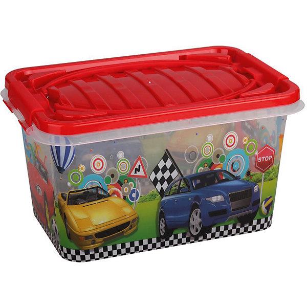Контейнер Форсаж прямоугольный 15л. ,  AlternativaЯщики для игрушек<br>Форсаж - удобный и вместительный контейнер для мальчиков. Он выполнен из пластика, надежно закрывается крышкой и украшен рисунком с яркими машинками. Отлично подойдет для хранения самых ценных вещей малыша.<br><br>Дополнительная информация:<br>Материал: пластик<br>Объем: 15 л<br>Размер:39х26,5х21 см<br><br>Контейнер Форсаж вы можете приобрести в нашем интернет-магазине.<br><br>Ширина мм: 390<br>Глубина мм: 265<br>Высота мм: 210<br>Вес г: 686<br>Возраст от месяцев: 36<br>Возраст до месяцев: 144<br>Пол: Унисекс<br>Возраст: Детский<br>SKU: 4979724