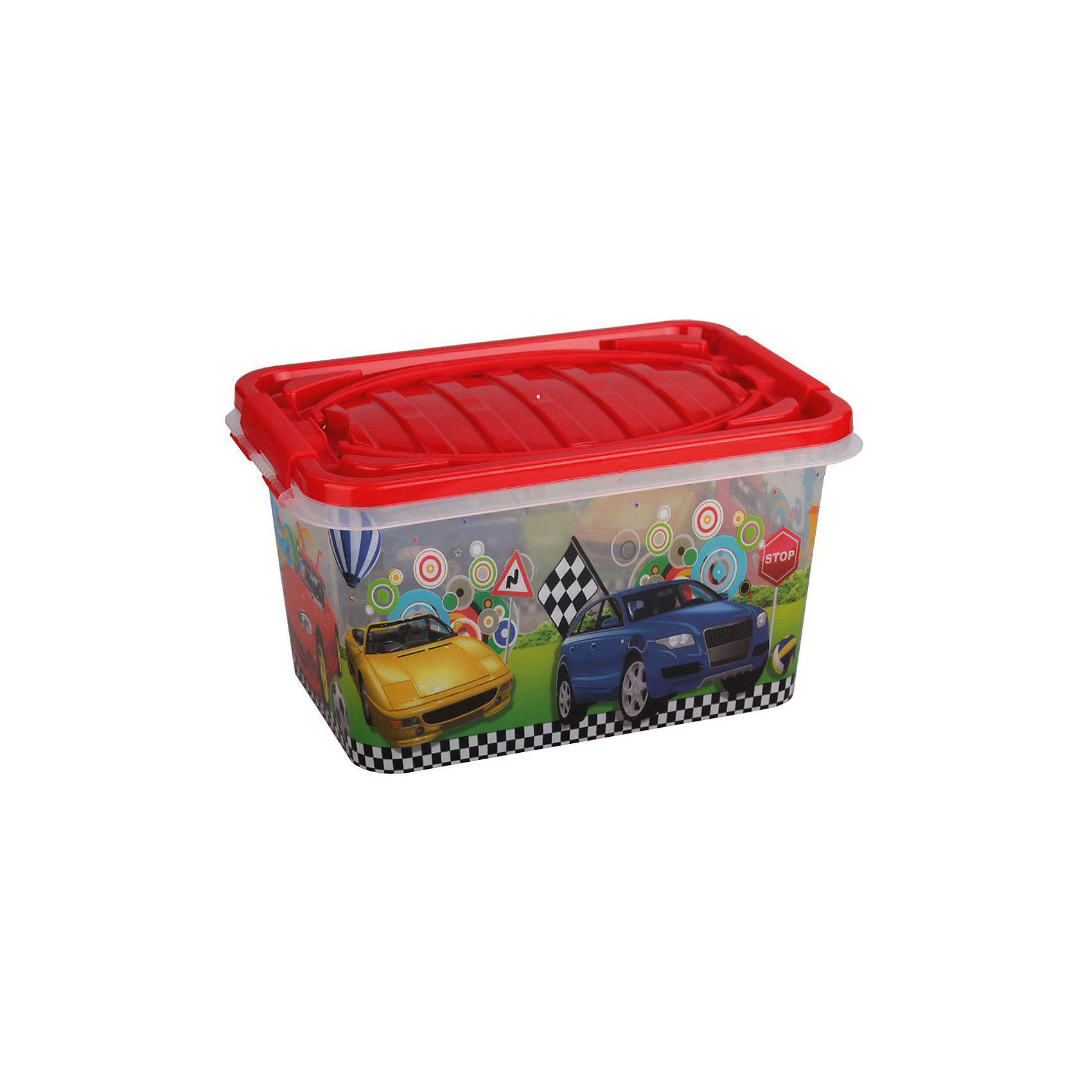 Контейнер Форсаж прямоугольный 15л. ,  AlternativaПорядок в детской<br>Форсаж - удобный и вместительный контейнер для мальчиков. Он выполнен из пластика, надежно закрывается крышкой и украшен рисунком с яркими машинками. Отлично подойдет для хранения самых ценных вещей малыша.<br><br>Дополнительная информация:<br>Материал: пластик<br>Объем: 15 л<br>Размер:39х26,5х21 см<br><br>Контейнер Форсаж вы можете приобрести в нашем интернет-магазине.<br><br>Ширина мм: 390<br>Глубина мм: 265<br>Высота мм: 210<br>Вес г: 686<br>Возраст от месяцев: 36<br>Возраст до месяцев: 144<br>Пол: Унисекс<br>Возраст: Детский<br>SKU: 4979724