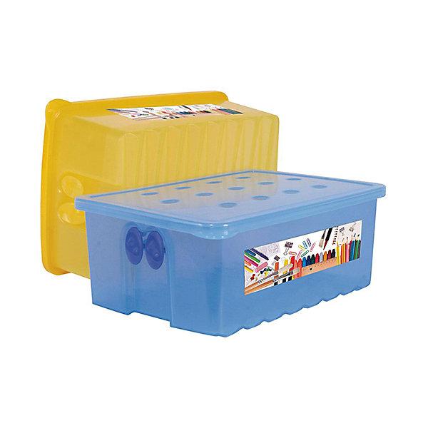 Контейнер для карандашей ,  AlternativaШкольные аксессуары<br>Контейнер для карандашей изготовлен из пластика, имеет прямоугольную форму и закрывается крышкой. В таком контейнере ребенку будет удобно хранить письменные принадлежности.<br><br>Дополнительная информация:<br>Материал: пластик<br>Размер: 22,5х8,3х15 см<br><br>Вы можете приобрести контейнер для карандашей в нашем интернет-магазине.<br><br>Ширина мм: 225<br>Глубина мм: 83<br>Высота мм: 150<br>Вес г: 215<br>Возраст от месяцев: 36<br>Возраст до месяцев: 144<br>Пол: Унисекс<br>Возраст: Детский<br>SKU: 4979728
