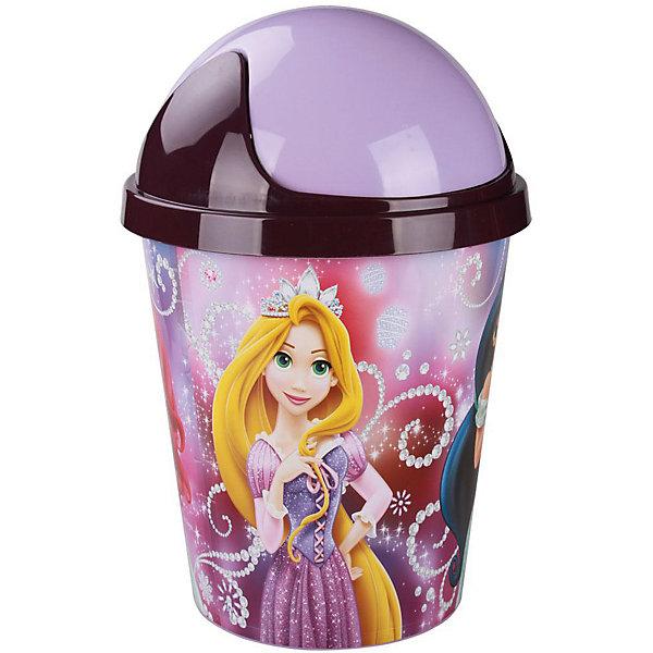 Контейнер для мусора  Принцессы-Дисней 10л ,  AlternativaМусорные ведра<br>Контейнер для мусора Принцессы-Дисней изготовлен из пластика, имеет удобную крышку, открывающуюся одним движением руки. Контейнер украшен ярким рисунком с изображением принцесс Дисней. Отлично подойдет для девочек!<br><br>Дополнительная информация:<br>Сказочные персонажи: Золушка, Жасмин, Ариэль, Рапунцель<br>Материал: пластик<br>Объем: 10л<br>Размер: 40х27х27 см<br>Вы можете купить контейнер для мусора Принцессы-Дисней в нашем интернет-магазине.<br>Ширина мм: 270; Глубина мм: 270; Высота мм: 400; Вес г: 429; Возраст от месяцев: 36; Возраст до месяцев: 144; Пол: Унисекс; Возраст: Детский; SKU: 4979729;