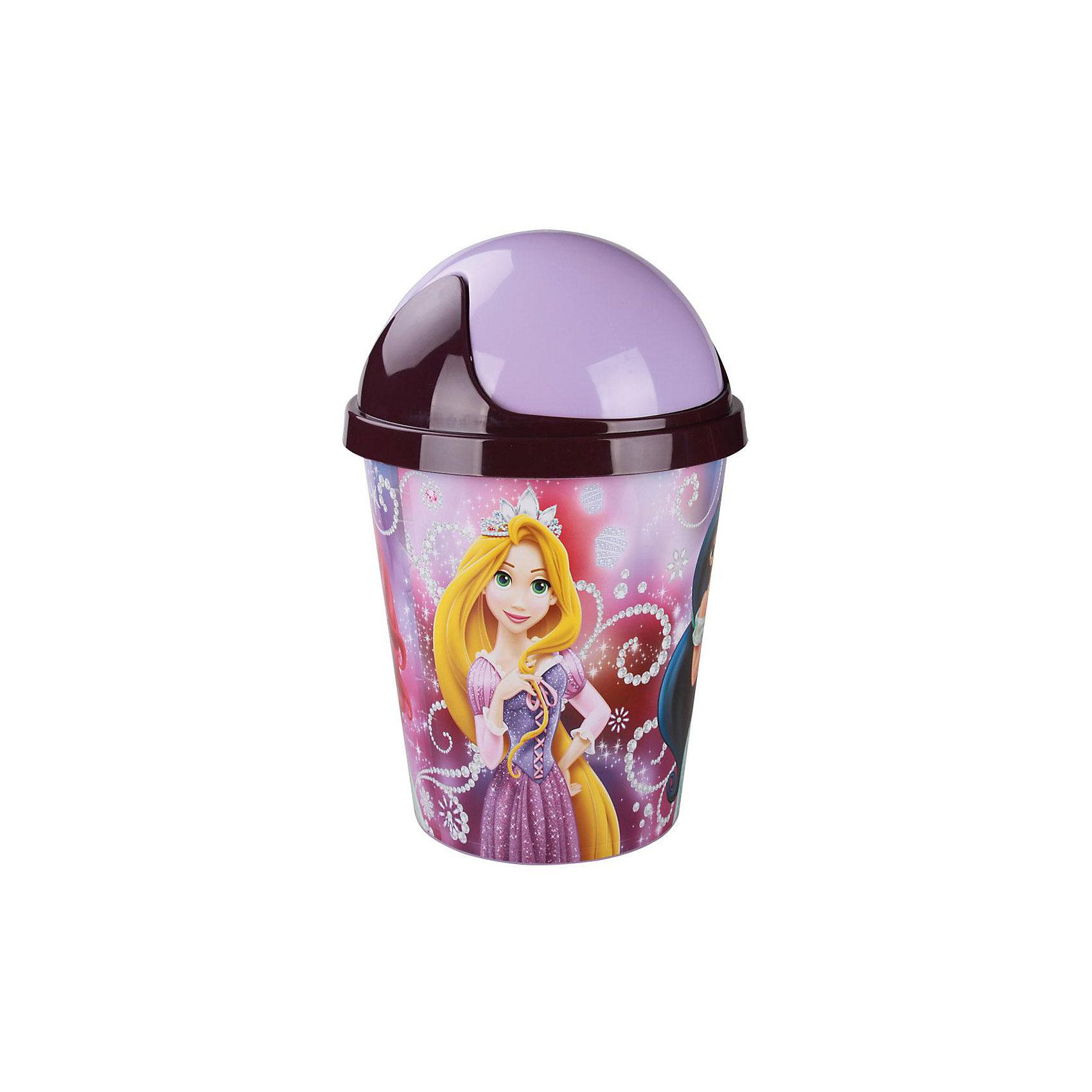 Alternativa Контейнер для мусора  Принцессы-Дисней 10л ,  Alternativa hasbro кукла рапунцель принцессы дисней