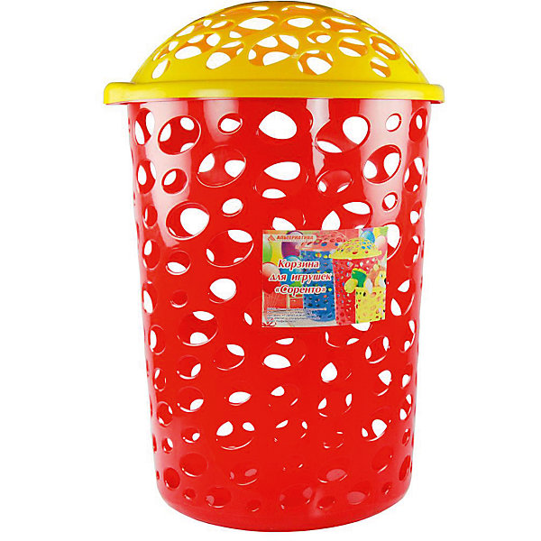 Корзина Сорренто 45л. ,  Alternativa, красныйКорзины для игрушек<br>Сорренто - корзина для детей. Корзина очень легкая, вместительная, закрывается крышкой. Она имеет необычный дизайн, который непременно понравится малышу, и он с радостью будет хранить в такой корзине свои игрушки. <br><br>Дополнительная информация:<br>Материал: пластик<br>Цвет: красный<br>Объем: 45 л<br>Размер: 39х39х59 см<br><br>Корзину Сорренто вы можете купить в нашем интернет-магазине.<br><br>Ширина мм: 390<br>Глубина мм: 390<br>Высота мм: 590<br>Вес г: 911<br>Возраст от месяцев: 36<br>Возраст до месяцев: 144<br>Пол: Унисекс<br>Возраст: Детский<br>SKU: 4979733
