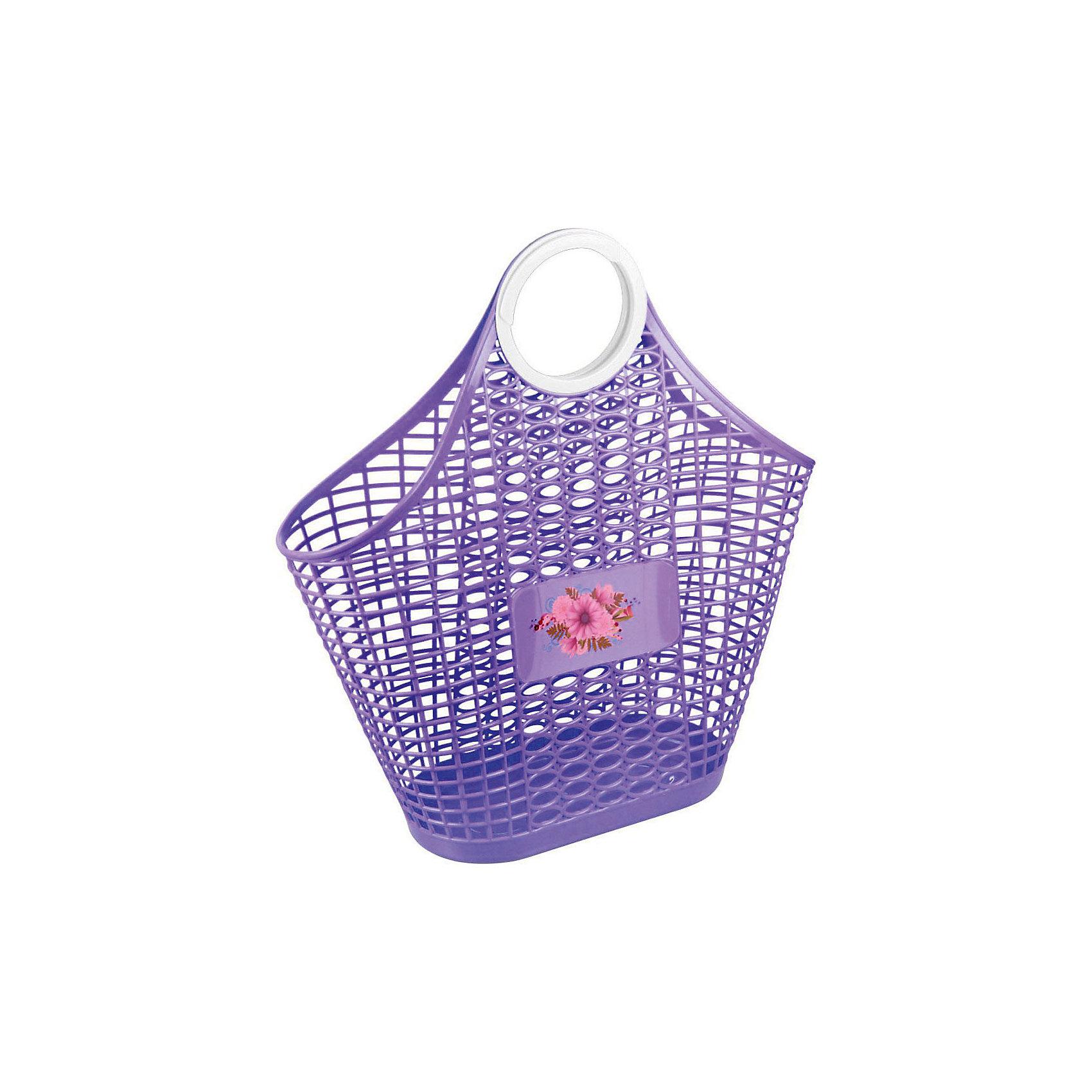 Alternativa Корзина ,  Alternativa, фиолет. плетеные заборы для дачи купить