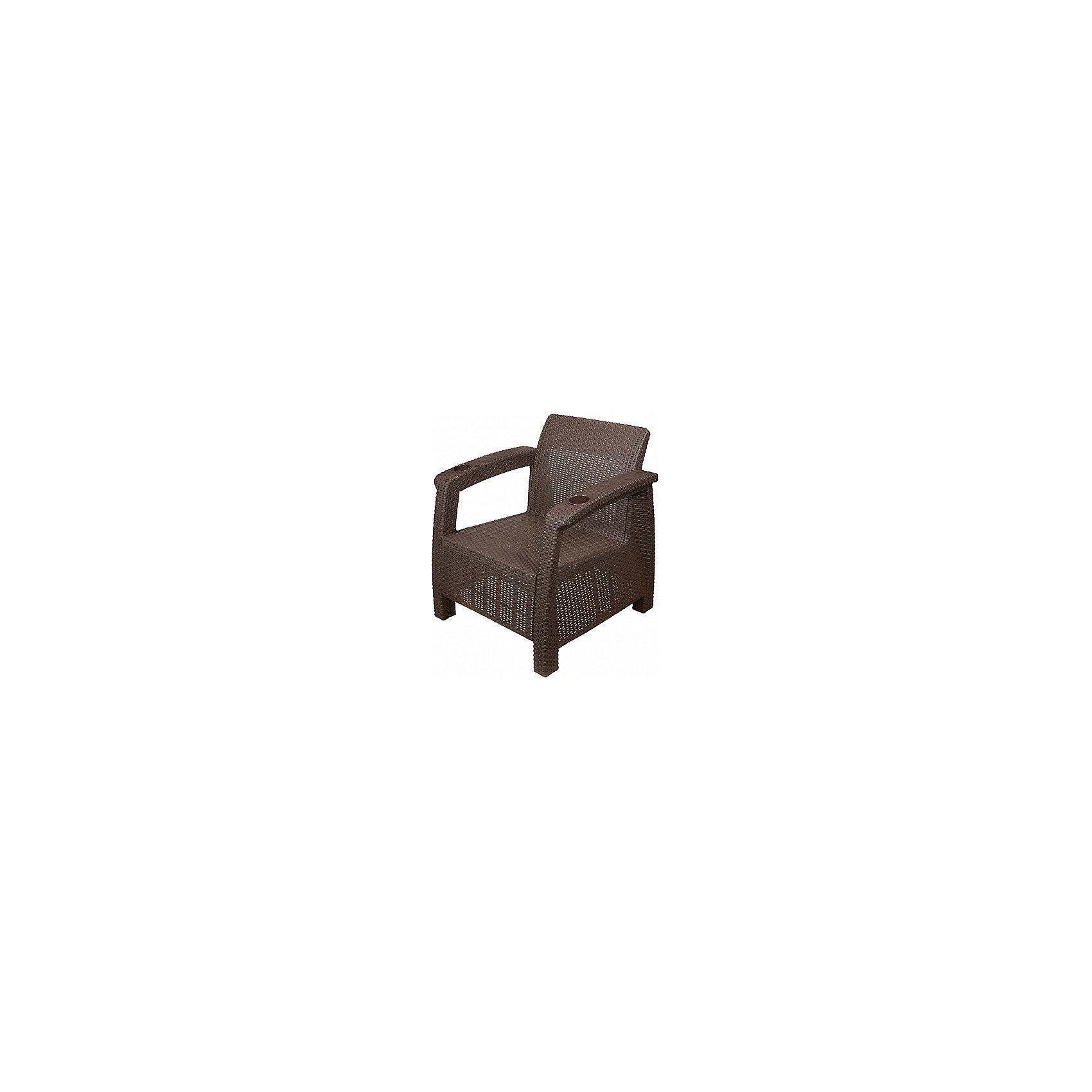 Alternativa Кресло Ротанг ,  Alternativa, коричневый кресло мешок купить в магазине