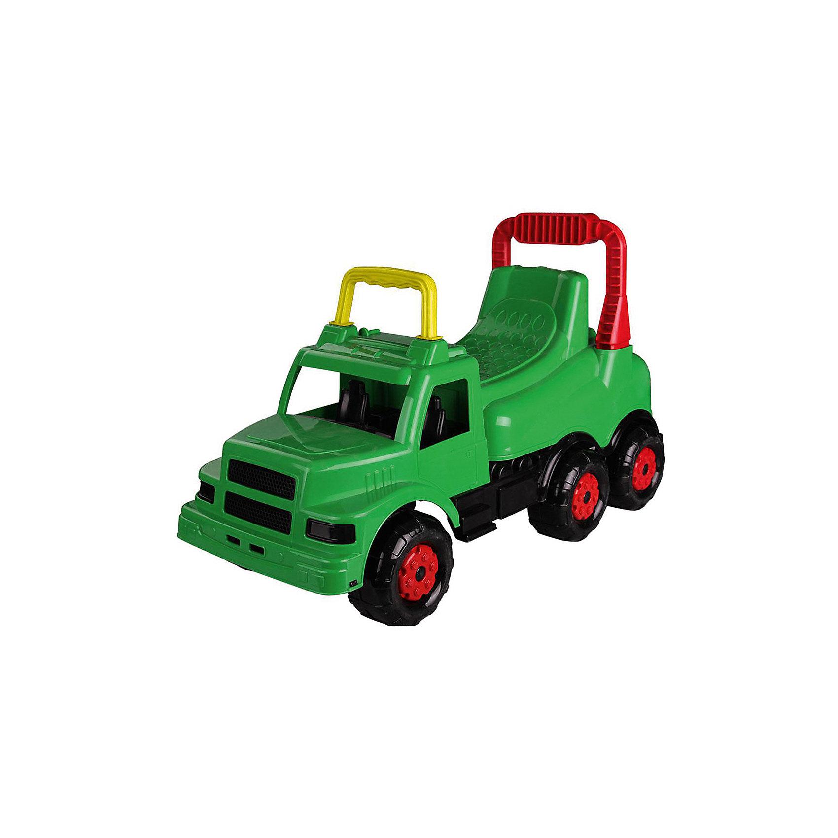 Машинка детская Весёлые гонки ,  Alternativa, зеленыйИзумительная машинка Веселые гонки изготовлена из прочного пластика и способна покатать ребенка. У машинки есть удобное сидение, две ручки и шесть колес. Такой замечательный транспорт непременно понравятся мальчику.<br><br>Дополнительная информация:<br>Материал: пластик<br>Цвет: зеленый<br>Размер: 69,5х29х40 см<br><br>Вы можете купить машинку Веселые гонки в нашем интернет-магазине.<br><br>Ширина мм: 695<br>Глубина мм: 290<br>Высота мм: 400<br>Вес г: 2371<br>Возраст от месяцев: 36<br>Возраст до месяцев: 144<br>Пол: Унисекс<br>Возраст: Детский<br>SKU: 4979756