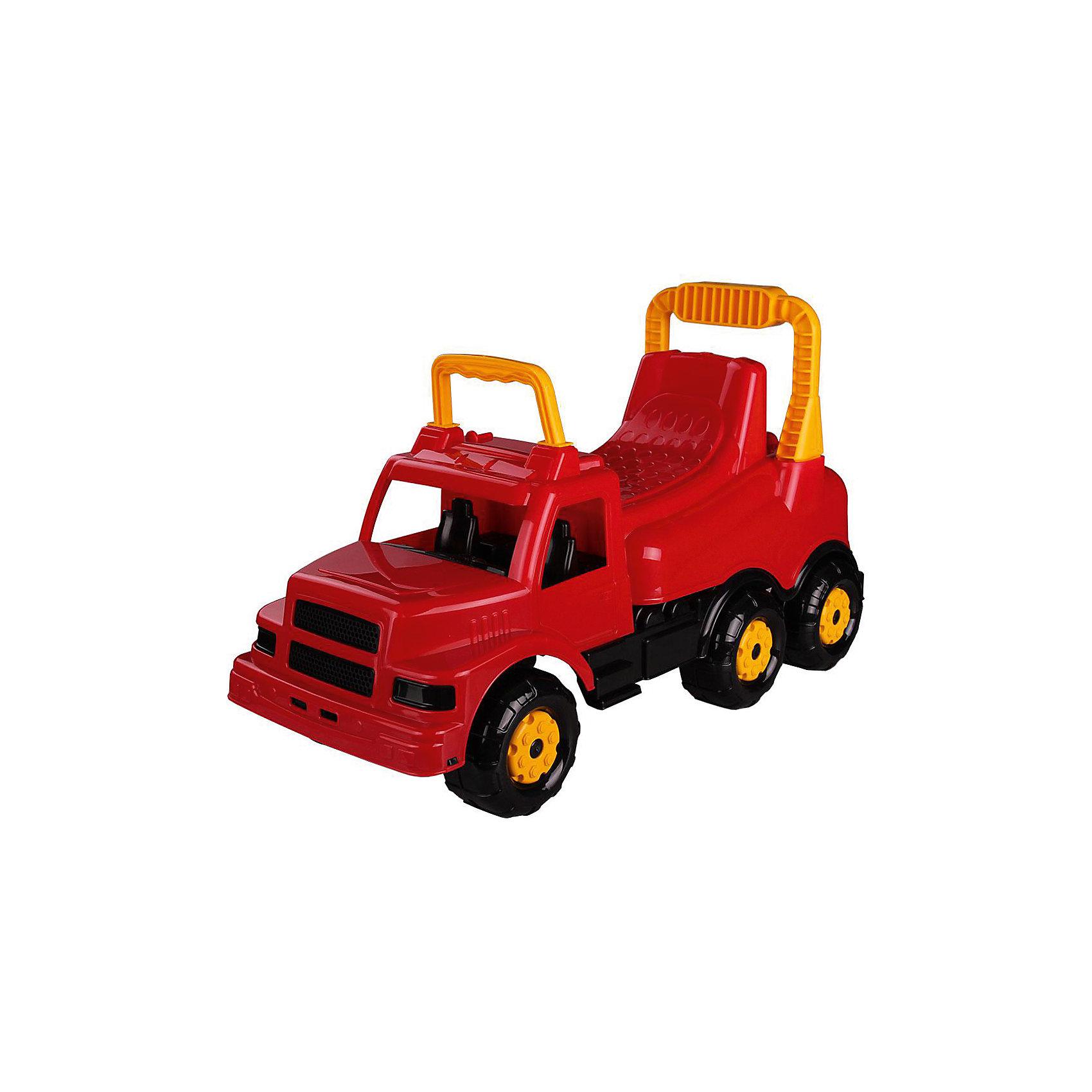 Машинка детская Весёлые гонки ,  Alternativa, красныйМашинки-каталки<br>Изумительная машинка Веселые гонки изготовлена из прочного пластика и способна покатать ребенка. У машинки есть удобное сидение, две ручки и шесть колес. Такой замечательный транспорт непременно понравятся мальчику.<br><br>Дополнительная информация:<br>Материал: пластик<br>Цвет: красный<br>Размер: 69,5х29х40 см<br><br>Вы можете купить машинку Веселые гонки в нашем интернет-магазине.<br><br>Ширина мм: 695<br>Глубина мм: 290<br>Высота мм: 400<br>Вес г: 2371<br>Возраст от месяцев: 36<br>Возраст до месяцев: 144<br>Пол: Унисекс<br>Возраст: Детский<br>SKU: 4979757