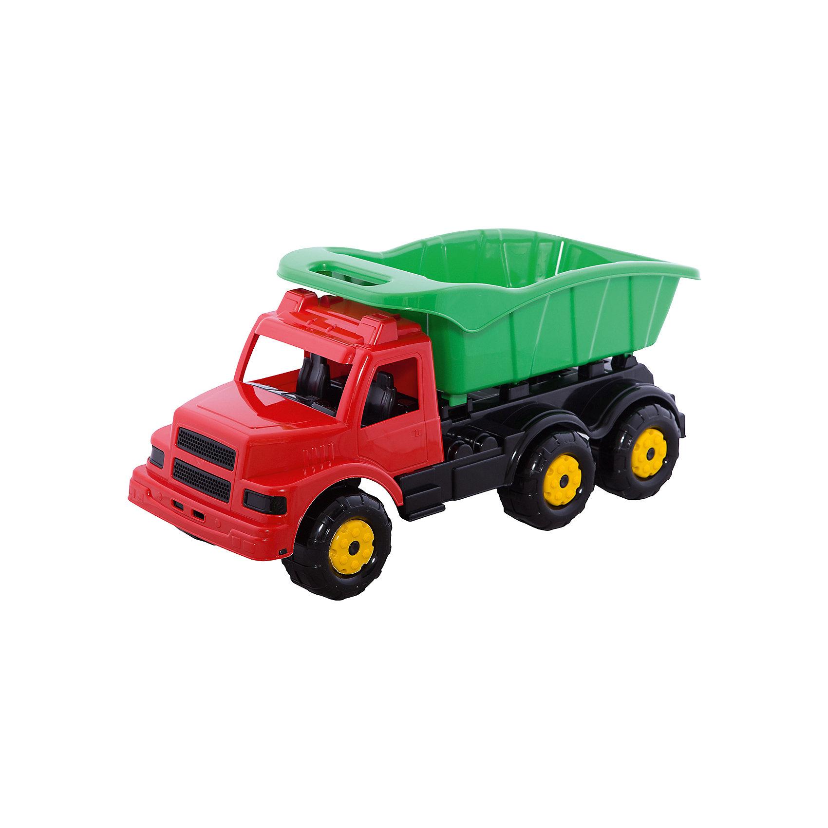 Машинка детская Самосвал ,  Alternativa, красныйМашинки<br>Машинку Самосвал по достоинству оценит каждый мальчик, ведь она очень устойчивая и с ней удобно играть. Кузов самосвала легко поднимается и опускается. <br><br>Дополнительная информация:<br>Материал: пластик<br>Цвет: красный<br>Размер: 69,5х29х33 см<br><br>Машинку Самосвал можно приобрести в нашем интернет-магазине.<br><br>Ширина мм: 695<br>Глубина мм: 290<br>Высота мм: 330<br>Вес г: 2244<br>Возраст от месяцев: 36<br>Возраст до месяцев: 144<br>Пол: Унисекс<br>Возраст: Детский<br>SKU: 4979758