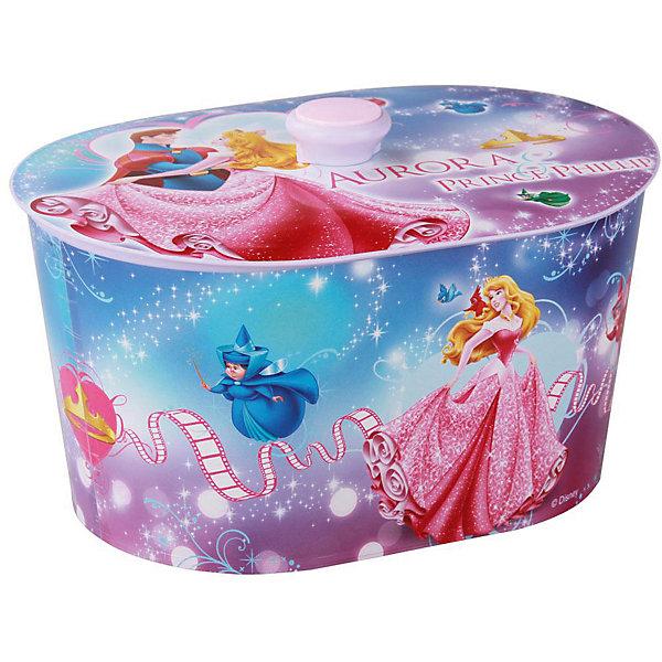 Шкатулка игрушечная Аврора-Дисней,  Alternativa, люкс овал.Детские предметы интерьера<br>Шкатулка Аврора-Дисней овальной формы, изготовлена из пластика. Она очень вместительная, закрывается крышкой с удобной ручкой. В шкатулке с изображением принцессы Авроры девочке будет приятно хранить украшения или различные безделушки.<br><br>Дополнительная информация:<br>Сказочный персонаж: Аврора<br>Материал: пластик<br>Размер: 25,2х18,2х15,2 см<br><br>Шкатулку Аврора-Дисней вы можете приобрести в нашем интернет-магазине.<br>Ширина мм: 252; Глубина мм: 182; Высота мм: 152; Вес г: 277; Возраст от месяцев: 36; Возраст до месяцев: 144; Пол: Унисекс; Возраст: Детский; SKU: 4979789;