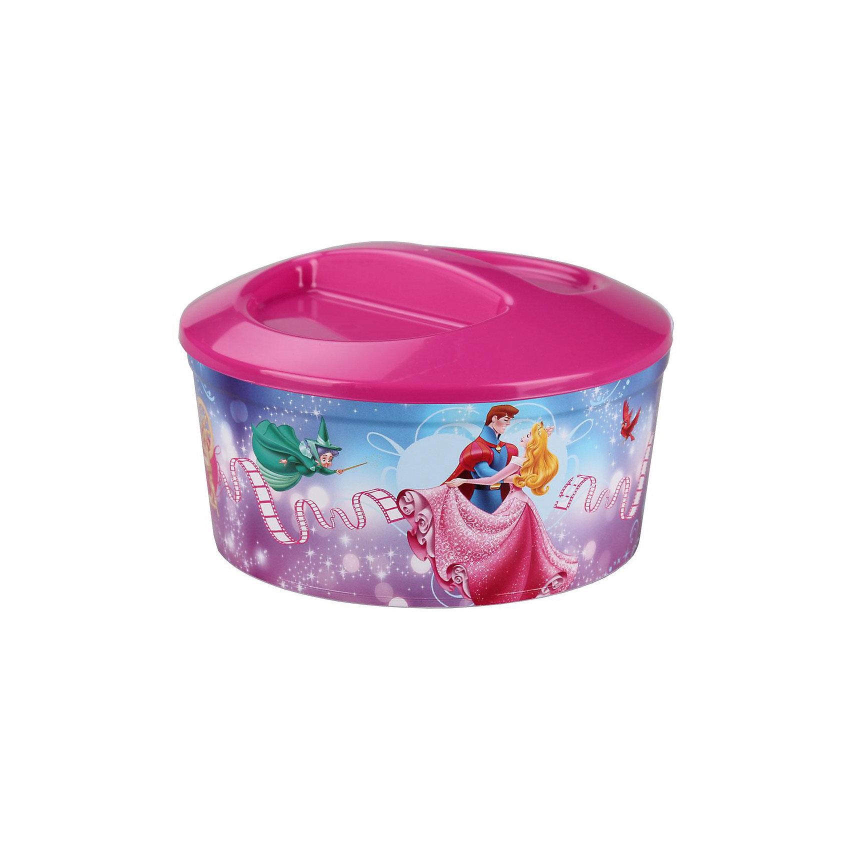 Шкатулка игрушечная Аврора-Дисней круглая,  AlternativaПредметы интерьера<br>Шкатулка Аврора-Дисней круглой формы, изготовлена из пластика. Она очень вместительная, закрывается крышкой с углублениями. В шкатулке с изображением принцессы Авроры девочке будет приятно хранить украшения или различные безделушки.<br><br>Дополнительная информация:<br>Сказочный персонаж: Аврора<br>Материал: пластик<br>Размер: 19,5х19,5х11,5 см<br><br>Шкатулку Аврора-Дисней вы можете приобрести в нашем интернет-магазине.<br><br>Ширина мм: 195<br>Глубина мм: 195<br>Высота мм: 115<br>Вес г: 192<br>Возраст от месяцев: 36<br>Возраст до месяцев: 144<br>Пол: Унисекс<br>Возраст: Детский<br>SKU: 4979790