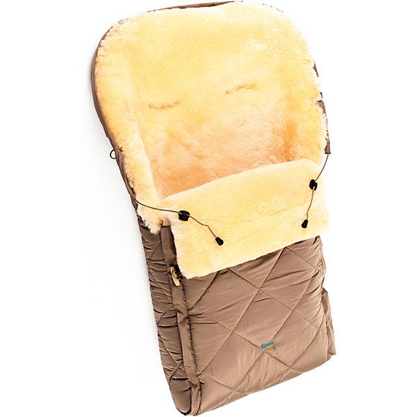 Конверт в коляску натур овчина, Ramili, бежевыйДетские конверты<br>Конверт в коляску натур овчина, Ramili, красный изготовлен по британской технологии с соблюдением всех норм и требований к безопасности для изделий, предназначенных для новорожденных. Верх конверта выполнен из плащевой ткани, которая обеспечивает защиту от ветра и влаги, при этом обладает высокими износоустойчивыми свойствами; внутренняя часть – из натуральной овчины, выделанной по специализированной технологии обработки, при которой не используются красители и химические вещества. При этом при обработке сохраняются свойства натуральной овчины и завиток, который обеспечивает повышенные теплоизоляционные свойства. Изделие обладает высокими гипоаллергенными свойствами. Конверт удобен в использовании: сбоку имеется молния,егивании которой, конверт делится на две части, это позволяет его использовать и как коврик в санки или на пол для игр ребенка; Сверху предусмотрена стяжка, благодаря которой верхняя часть стягивается в капюшон. Конверт выполнен в ярком цвете, что позволит его использовать для выписки в зимнее время.<br>Конверт в коляску натур овчина, Ramili, красный – это качественные, комфортные и многофункциональные изделия для самых маленьких!<br><br>Характеристики:<br>Сезон: зима<br>Cостав: верх конверта – полиэстер, меховой подклад – овчина, 100%<br>Размеры конверта (Д*Ш): 95*45 см<br>Верх стягивается в капюшон<br>Наличие застежки-молнии<br>Предусмотрены прорези для ремней безопасности<br>Трансформируется в коврик<br>Уход: машинная стирка при температуре не более 40 градусов<br><br>Конверт в коляску натур овчина, Ramili, красный можно купить в нашем интернет-магазине.<br><br>Ширина мм: 900<br>Глубина мм: 600<br>Высота мм: 200<br>Вес г: 1000<br>Цвет: бежевый<br>Возраст от месяцев: 0<br>Возраст до месяцев: 12<br>Пол: Унисекс<br>Возраст: Детский<br>SKU: 4980604