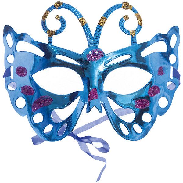 Маскарадная маска СиняяДетские карнавальные маски<br>Маскарадная маска - отличный новогодний аксессуар! Блестящая маска подойдет к любому наряду и эффектно дополнит праздничный образ. <br><br>Дополнительная информация:<br><br>- Материал: ПВХ. <br>- Размер: 22х14 см.<br>- Крепится с помощью атласной ленты. <br><br>Маскарадную маску Синюю можно купить в нашем магазине.<br>Ширина мм: 220; Глубина мм: 130; Высота мм: 10; Вес г: 28; Возраст от месяцев: 36; Возраст до месяцев: 2147483647; Пол: Унисекс; Возраст: Детский; SKU: 4981301;