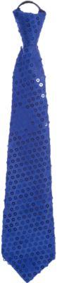 Magic Time Маскарадный галстук Синий