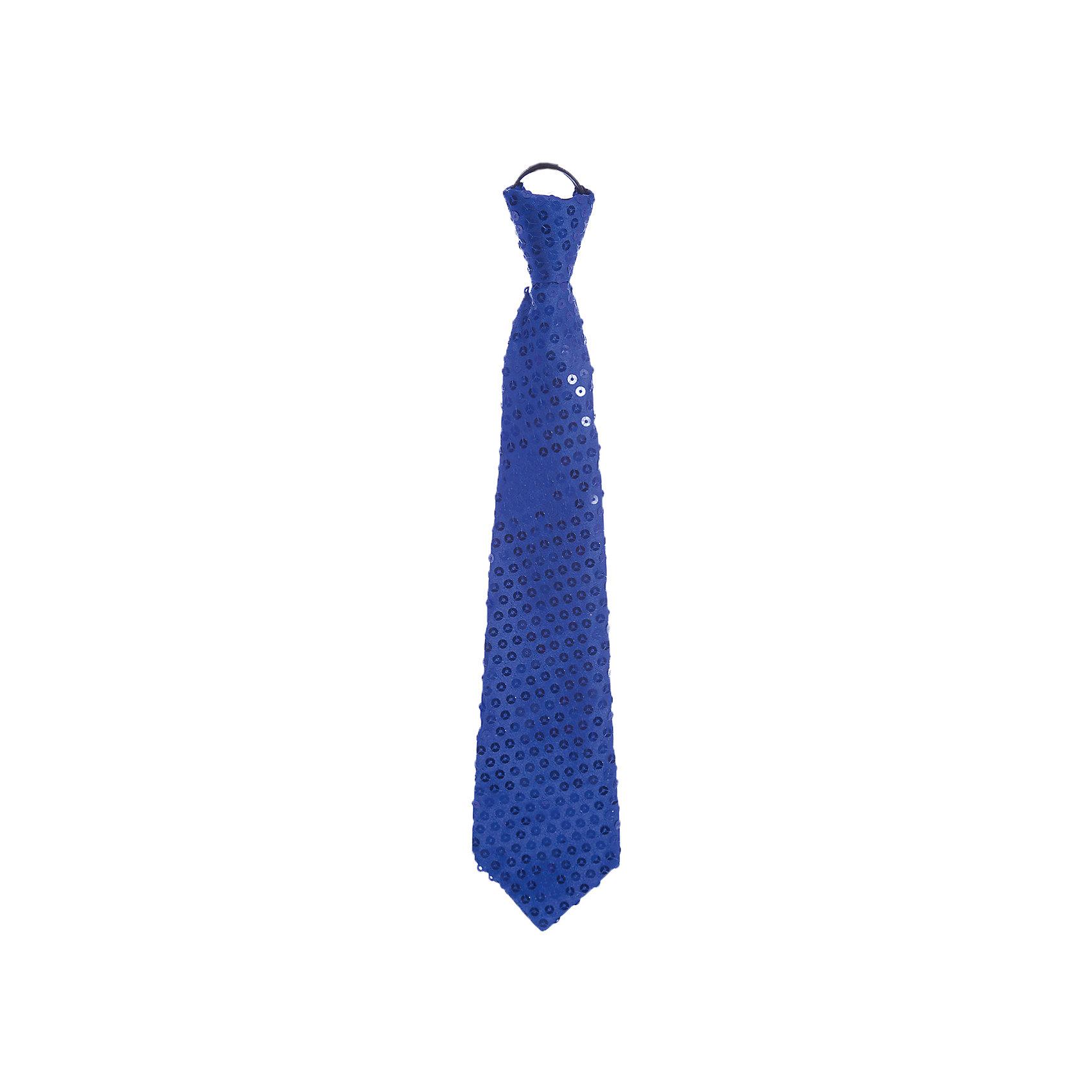 Маскарадный галстук СинийБлестящий аксессуар - прекрасный вариант для новогодней вечеринки! Яркий маскарадный галстук оживит любой образ или же сможет стать памятным презентом. <br><br>Дополнительная информация:<br><br>- Материал: полиэстер.  <br>- Длина: 35 см.<br>- На резинке. <br><br>Маскарадный галстук Синий можно купить в нашем магазине.<br><br>Ширина мм: 270<br>Глубина мм: 130<br>Высота мм: 10<br>Вес г: 23<br>Возраст от месяцев: 36<br>Возраст до месяцев: 2147483647<br>Пол: Мужской<br>Возраст: Детский<br>SKU: 4981303