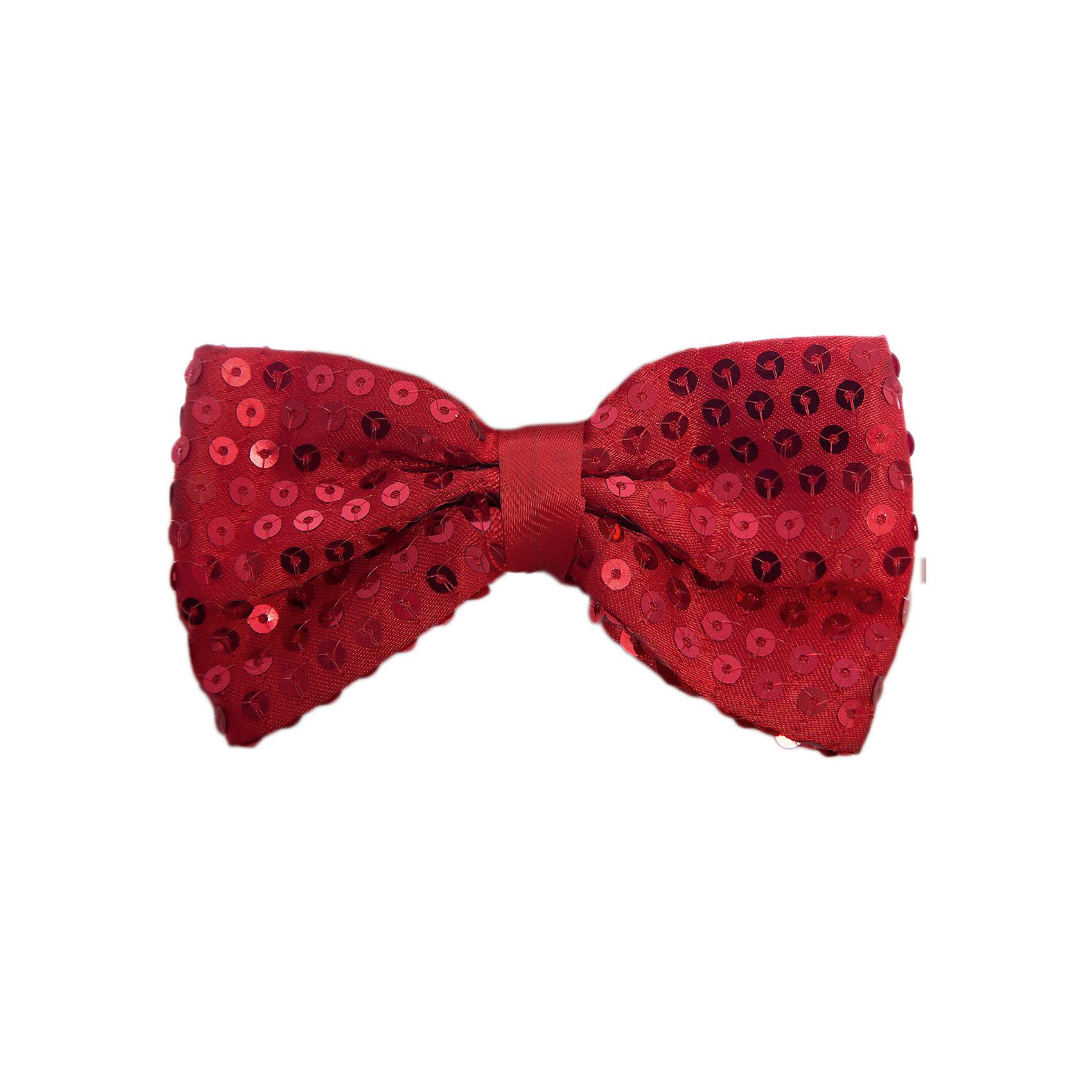 Маскарадный галстук-бабочка КрасныйБлестящий аксессуар - прекрасный вариант для новогодней вечеринки! Яркий маскарадный галстук-бабочка оживит любой образ или же сможет стать памятным презентом. <br><br>Дополнительная информация:<br><br>- Материал: полиэстер.  <br>- Размер: 10 см.<br>- На резинке. <br><br>Маскарадный галстук-бабочку Красный можно купить в нашем магазине.<br><br>Ширина мм: 310<br>Глубина мм: 120<br>Высота мм: 10<br>Вес г: 10<br>Возраст от месяцев: 36<br>Возраст до месяцев: 2147483647<br>Пол: Мужской<br>Возраст: Детский<br>SKU: 4981305