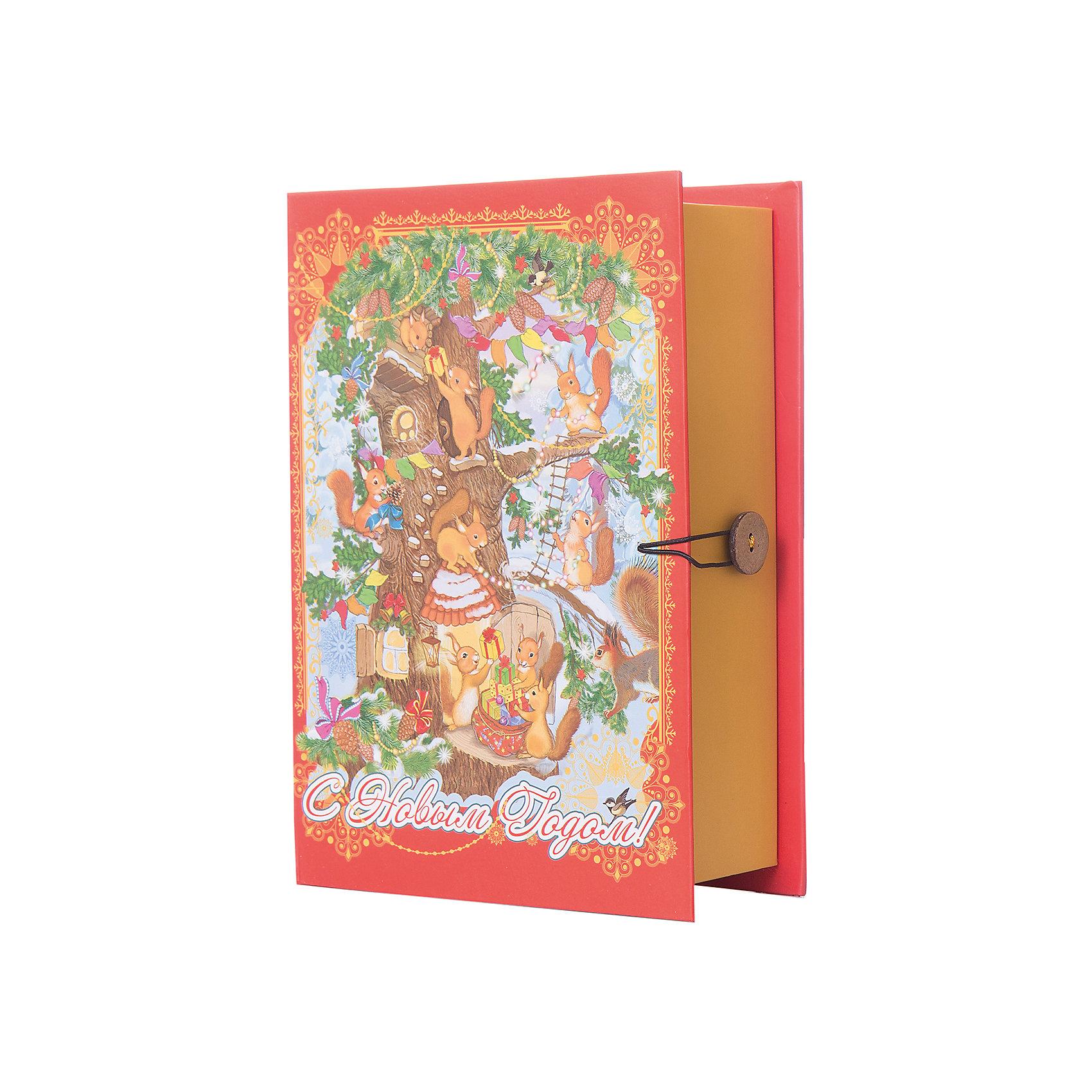 Подарочная коробка Белочки 20*14*6 смВсё для праздника<br>Красиво упакованный подарок приятнее получать вдвойне! Яркая коробка - универсальный, практичный и стильный вариант для упаковки любых подарков.<br><br>Дополнительная информация:<br><br>- Материал: мелованный ламинированный негофрированный картон (плотность - 1100 г/м2).<br>- Размер: 20х14х6 см. <br>- Полноцветный декоративный рисунок на внутренней и наружной части. <br><br>Подарочную коробку Белочки (20*14*6 см.) можно купить в нашем магазине.<br><br>Ширина мм: 200<br>Глубина мм: 140<br>Высота мм: 60<br>Вес г: 420<br>Возраст от месяцев: 36<br>Возраст до месяцев: 2147483647<br>Пол: Унисекс<br>Возраст: Детский<br>SKU: 4981311