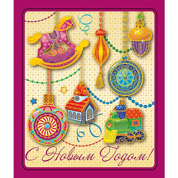Магнит Милые игрушкиНовогодние сувениры<br>Яркий магнит с новогодней символикой - прекрасный вариант для праздничного сувенира. Магнит можно прикрепить на любую металлическую поверхность, он всегда будет радовать, напоминая о веселом и таком долгожданном для всех празднике! <br><br>Дополнительная информация:<br><br>- Материал: агломерированный феррит. <br>- Размер: 5х6 см.<br>- Яркий привлекательный дизайн. <br><br>Новогодний магнит Милые игрушки можно купить в нашем магазине.<br><br>Ширина мм: 100<br>Глубина мм: 100<br>Высота мм: 10<br>Вес г: 260<br>Возраст от месяцев: 36<br>Возраст до месяцев: 2147483647<br>Пол: Унисекс<br>Возраст: Детский<br>SKU: 4981318