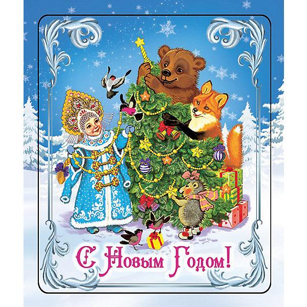 Магнит Снегурочка и зверятаНовогодние сувениры<br>Яркий магнит с новогодней символикой - прекрасный вариант для праздничного сувенира. Магнит можно прикрепить на любую металлическую поверхность, он всегда будет радовать, напоминая о веселом и таком долгожданном для всех празднике! <br><br>Дополнительная информация:<br><br>- Материал: агломерированный феррит. <br>- Размер: 5х6 см.<br>- Яркий привлекательный дизайн. <br><br>Новогодний магнит Снегурочка и зверята можно купить в нашем магазине.<br><br>Ширина мм: 100<br>Глубина мм: 100<br>Высота мм: 10<br>Вес г: 260<br>Возраст от месяцев: 36<br>Возраст до месяцев: 2147483647<br>Пол: Унисекс<br>Возраст: Детский<br>SKU: 4981323