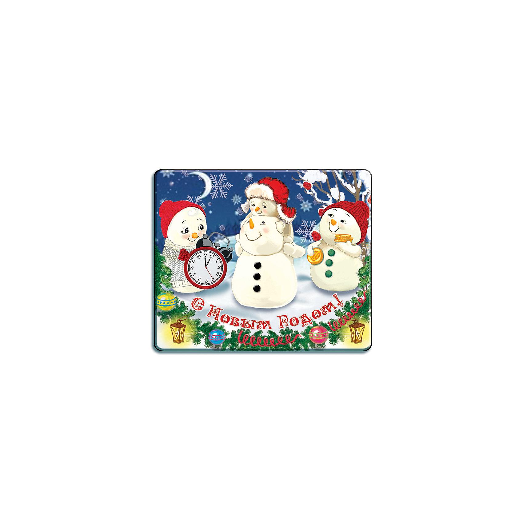 Магнит Снежная семейкаЯркий магнит с новогодней символикой - прекрасный вариант для праздничного сувенира. Магнит можно прикрепить на любую металлическую поверхность, он всегда будет радовать, напоминая о веселом и таком долгожданном для всех празднике! <br><br>Дополнительная информация:<br><br>- Материал: агломерированный феррит. <br>- Размер: 5х6 см.<br>- Яркий привлекательный дизайн. <br><br>Новогодний магнит Снежная семейка можно купить в нашем магазине.<br><br>Ширина мм: 100<br>Глубина мм: 100<br>Высота мм: 10<br>Вес г: 260<br>Возраст от месяцев: 36<br>Возраст до месяцев: 2147483647<br>Пол: Унисекс<br>Возраст: Детский<br>SKU: 4981324