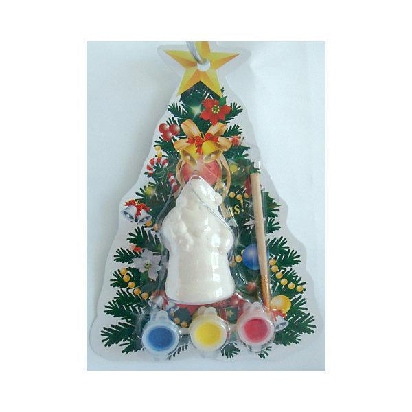Набор для творчества Дед мороз с фонарикомНаборы для раскрашивания<br>Набор для творчества Дед Мороз с фонариком включает в себя все для создания оригинальной новогодней поделки. Яркие краски хорошо ложатся на поверхность фигурки и быстро сохнут. Фигурка, раскрашенная своими руками станет прекрасным украшением новогодней елки. Отличный вариант для новогоднего подарка! <br><br>Дополнительная информация:<br><br>- Материал: доломитовая керамика, акварельные краски, пластик. <br>- Размер: 4х3,2х7,5 см. <br>- Комплектация: фигурка, кисть, краски (3 цвета). <br><br>Набор для творчества Дед Мороз с фонариком можно купить в нашем магазине.<br><br>Ширина мм: 40<br>Глубина мм: 32<br>Высота мм: 75<br>Вес г: 450<br>Возраст от месяцев: 36<br>Возраст до месяцев: 2147483647<br>Пол: Унисекс<br>Возраст: Детский<br>SKU: 4981327