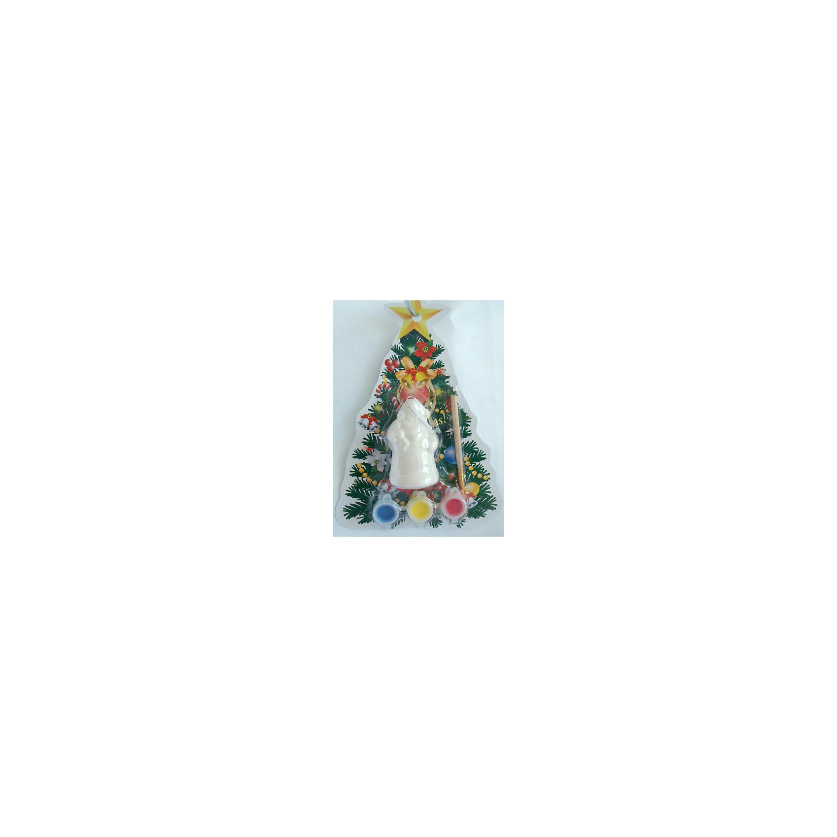 Magic Time Набор для творчества Дед мороз с фонариком игровые фигурки maxitoys фигура дед мороз в плетеном кресле музыкальный