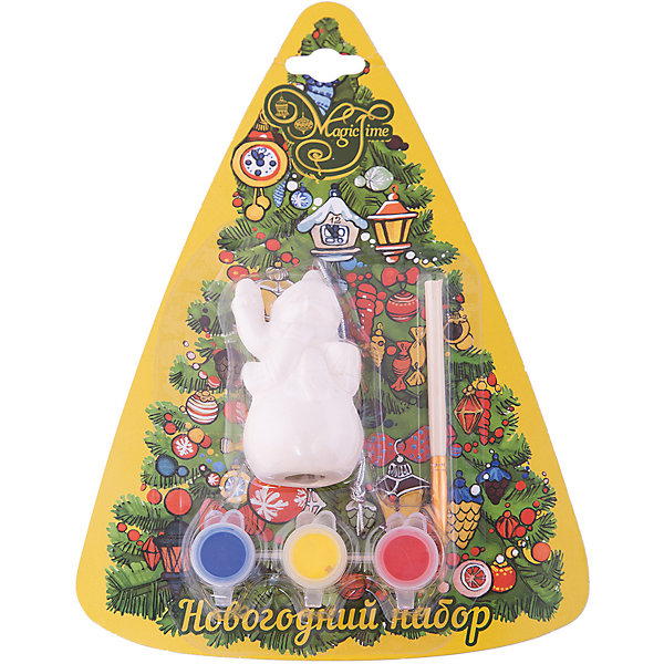 Набор для творчества СнеговикНаборы для раскрашивания<br>Набор для творчества Снеговик включает в себя все для создания оригинальной новогодней поделки. Яркие краски хорошо ложатся на поверхность фигурки и быстро сохнут. Фигурка, раскрашенная своими руками станет прекрасным украшением новогодней елки. Отличный вариант для новогоднего подарка! <br><br>Дополнительная информация:<br><br>- Материал: доломитовая керамика, акварельные краски, пластик. <br>- Размер: 4х3,2х7,5 см. <br>- Комплектация: фигурка, кисть, краски (3 цвета). <br><br>Набор для творчества Снеговик можно купить в нашем магазине.<br><br>Ширина мм: 40<br>Глубина мм: 32<br>Высота мм: 75<br>Вес г: 450<br>Возраст от месяцев: 36<br>Возраст до месяцев: 2147483647<br>Пол: Унисекс<br>Возраст: Детский<br>SKU: 4981332