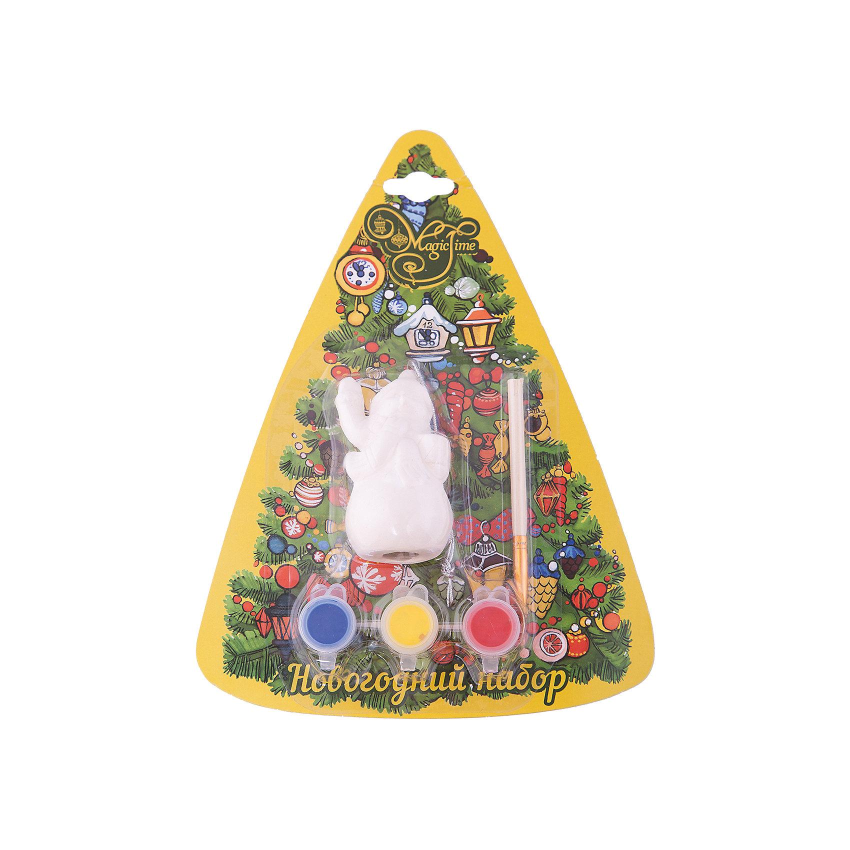 Набор для творчества СнеговикНовогоднее творчество<br>Набор для творчества Снеговик включает в себя все для создания оригинальной новогодней поделки. Яркие краски хорошо ложатся на поверхность фигурки и быстро сохнут. Фигурка, раскрашенная своими руками станет прекрасным украшением новогодней елки. Отличный вариант для новогоднего подарка! <br><br>Дополнительная информация:<br><br>- Материал: доломитовая керамика, акварельные краски, пластик. <br>- Размер: 4х3,2х7,5 см. <br>- Комплектация: фигурка, кисть, краски (3 цвета). <br><br>Набор для творчества Снеговик можно купить в нашем магазине.<br><br>Ширина мм: 40<br>Глубина мм: 32<br>Высота мм: 75<br>Вес г: 450<br>Возраст от месяцев: 36<br>Возраст до месяцев: 2147483647<br>Пол: Унисекс<br>Возраст: Детский<br>SKU: 4981332