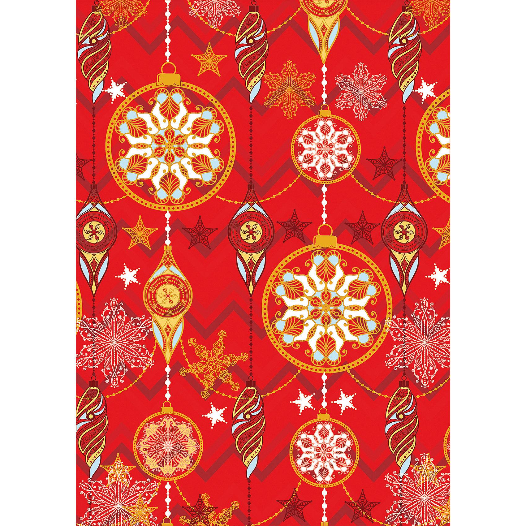 Упаковочная бумага Красное и золотое 100*70 смПредновогодние хлопоты многие любят даже больше самого праздника!  Праздничное настроение создает украшенный дом, наряженная ёлка, запах мандаринов, предновогодняя суета и, конечно же, подарки! Чтобы сделать момент вручения приятнее, нужна красивая упаковочная бумага.<br>Эта бумага украшена симпатичным универсальным рисунком, поэтому в неё можно упаковать подарок и родственнику, и коллеге. Она сделана из безопасного для детей, прочного, но легкого, материала. Создайте с ней праздничное настроение себе и близким!<br><br>Дополнительная информация:<br><br>плотность: 80 г/м2;<br>размер: 100 х 70 см;<br>в рулоне;<br>украшена рисунком.<br><br>Упаковочную бумагу Красное и золотое 100*70 см можно купить в нашем магазине.<br><br>Ширина мм: 100<br>Глубина мм: 100<br>Высота мм: 60<br>Вес г: 370<br>Возраст от месяцев: 36<br>Возраст до месяцев: 2147483647<br>Пол: Унисекс<br>Возраст: Детский<br>SKU: 4981386