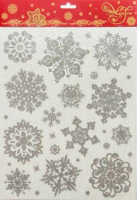 Magic Time Украшение Серебряные снежинки