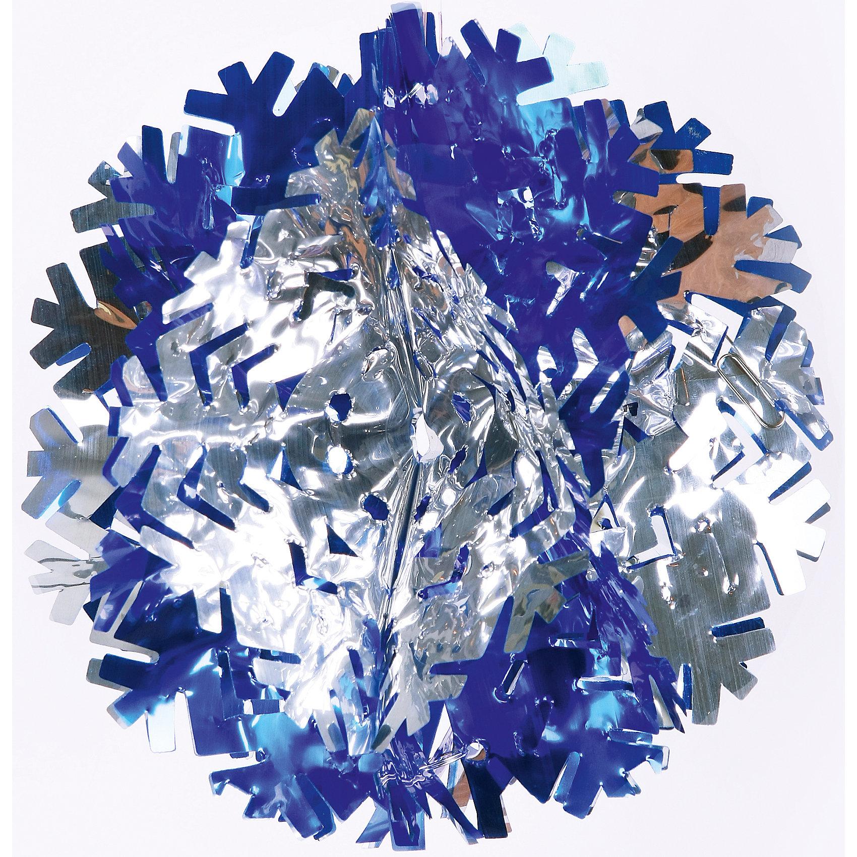 Гирлянда Снежинка 20*10 смВсё для праздника<br>Гирлянда Снежинка 20*10 см – это необычная гирлянда в виде блестящих голубых и серебряных лучиков снежинки. Впустите атмосферу зимы и праздников! С этой гирляндой так весело наводить красоту и радовать близких. Гирлянда раскладывается и превращается в объемную, шарообразную снежинку. Украшение прекрасно подойдет для декорирования штор, стен или даже люстры. <br><br>Дополнительная информация:<br>- Размер: 20 * 10 см.<br>- Материал: ПЭТ<br>Гирлянду Снежинка 20 * 10 см можно купить в нашем интернет-магазине.<br>Подробнее:<br>• Для детей в возрасте: от 3 лет<br>• Номер товара: 4981426<br>Страна производитель: Китай<br><br>Ширина мм: 100<br>Глубина мм: 100<br>Высота мм: 60<br>Вес г: 11<br>Возраст от месяцев: 36<br>Возраст до месяцев: 2147483647<br>Пол: Унисекс<br>Возраст: Детский<br>SKU: 4981426