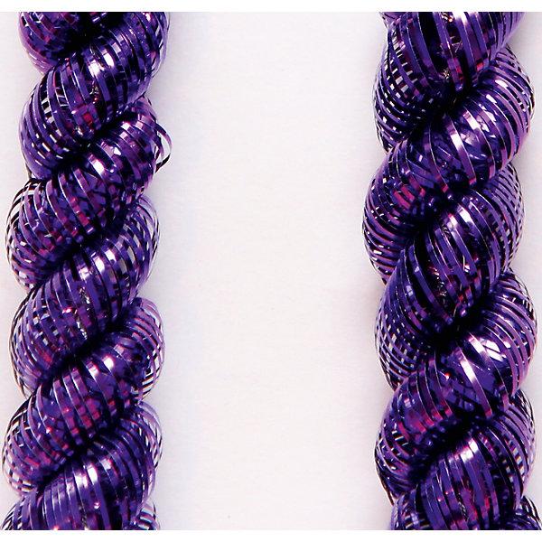 Мишура Пурпурный 5*200 смНовогодняя мишура и бусы<br>Мишура в пурпурном цвете отлично подойдет для украшения вашего дома. Она не будет сыпаться, поэтому останется яркой и блестящей и будет радовать вас ещё не один год. <br><br>Характеристика:<br>-Размер: 5 м 200 см<br>-Цвет: пурпурный<br>-Арт.: 34869<br><br>Мишуру Пурпурный можно приобрести в нашем интернет-магазине.<br><br>Ширина мм: 100<br>Глубина мм: 100<br>Высота мм: 60<br>Вес г: 17<br>Возраст от месяцев: 36<br>Возраст до месяцев: 2147483647<br>Пол: Унисекс<br>Возраст: Детский<br>SKU: 4981434