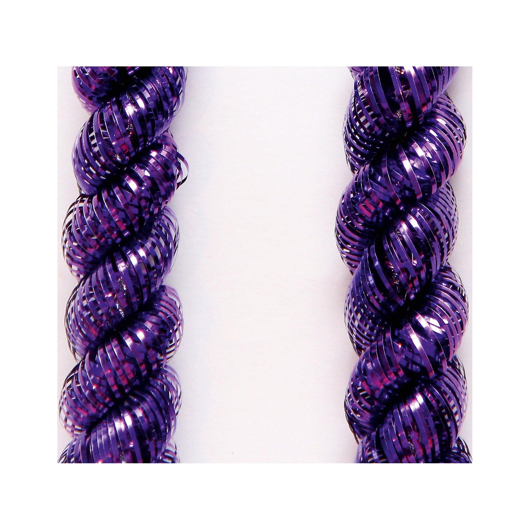 Мишура Пурпурный 5*200 смВсё для праздника<br>Мишура в пурпурном цвете отлично подойдет для украшения вашего дома. Она не будет сыпаться, поэтому останется яркой и блестящей и будет радовать вас ещё не один год. <br><br>Характеристика:<br>-Размер: 5 м 200 см<br>-Цвет: пурпурный<br>-Арт.: 34869<br><br>Мишуру Пурпурный можно приобрести в нашем интернет-магазине.<br><br>Ширина мм: 100<br>Глубина мм: 100<br>Высота мм: 60<br>Вес г: 17<br>Возраст от месяцев: 36<br>Возраст до месяцев: 2147483647<br>Пол: Унисекс<br>Возраст: Детский<br>SKU: 4981434
