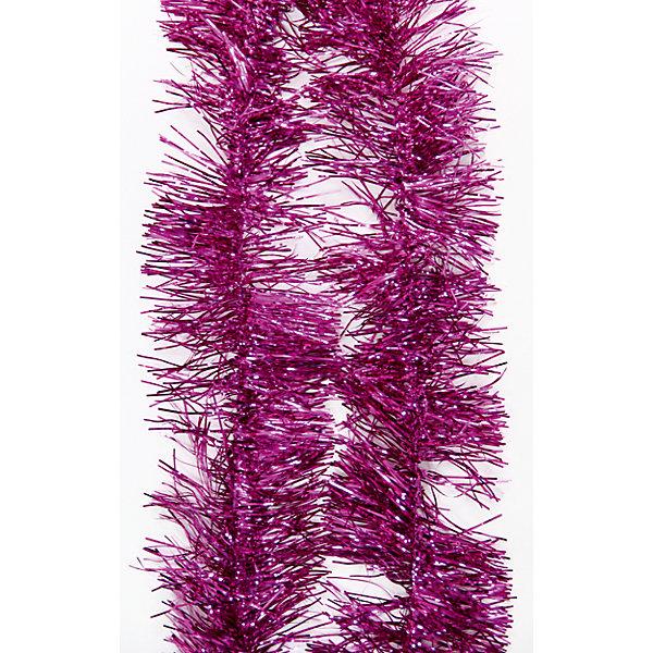 Мишура Розовый 12*200 смНовогодняя мишура и бусы<br>Мишура в розовом цвете отлично подойдет для украшения к новому году. Длина мишуры позволит украсить не один уголок вашего дома .  Она не будет сыпаться, поэтому останется яркой и блестящей и будет радовать вас ещё не один год. <br><br>Характеристика:<br>-Размер: 12 м 200 см<br>-Цвет: розовый<br>-Арт.: 34883<br>Мишуру Розовый можно приобрести в нашем интернет-магазине.<br><br>Ширина мм: 100<br>Глубина мм: 100<br>Высота мм: 60<br>Вес г: 29<br>Возраст от месяцев: 36<br>Возраст до месяцев: 2147483647<br>Пол: Унисекс<br>Возраст: Детский<br>SKU: 4981438