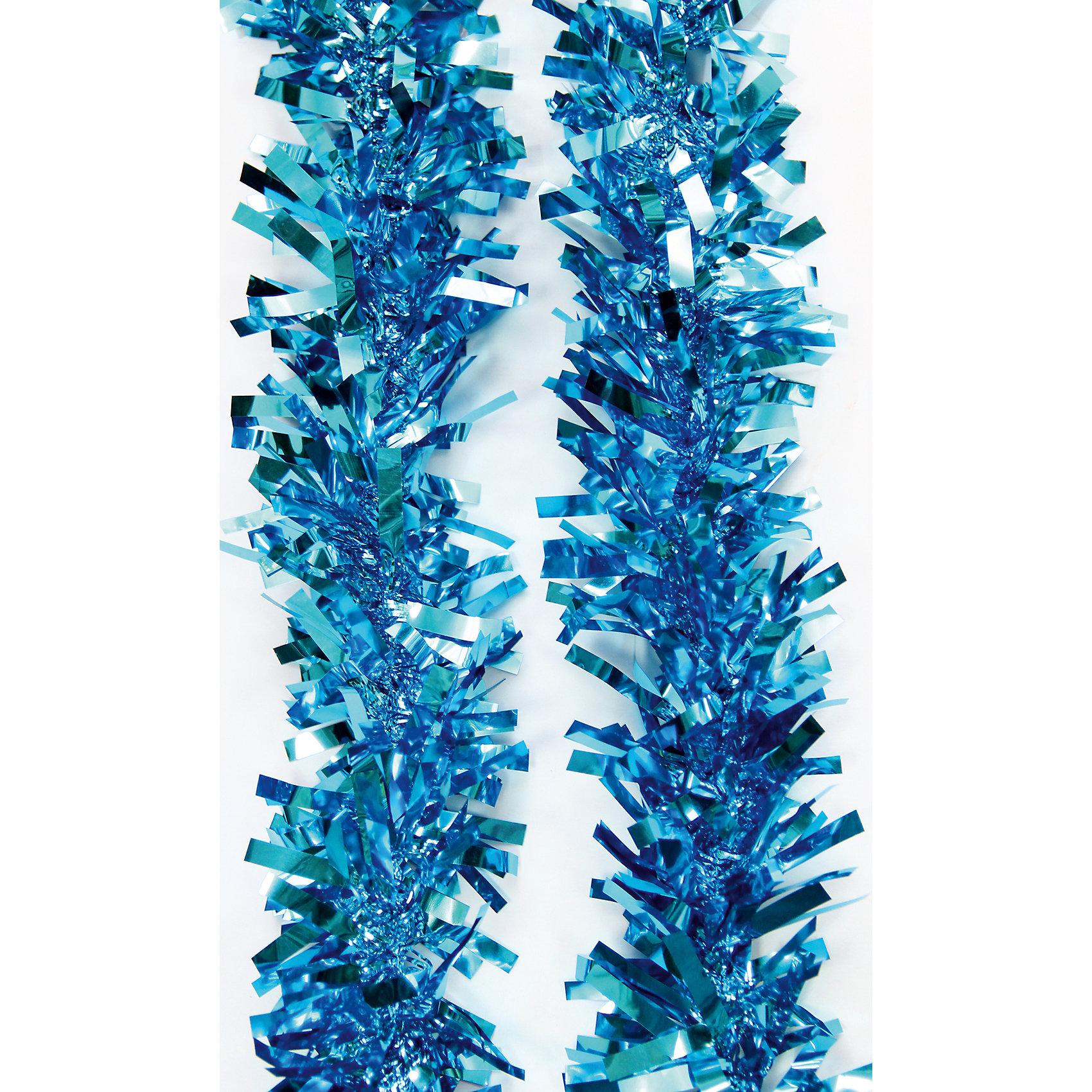 Мишура Синий 9*200 смВсё для праздника<br>Мишура в синем цвете отлично подойдет для украшения к новому году. Мишура создаст особую новогоднюю атмосферу, благодаря своему блеску. Она не будет сыпаться, поэтому останется яркой и блестящей и будет радовать вас ещё не один год. <br>Характеристика:<br>-Размер: 9 м 200 см<br>-Цвет: синий<br>-Арт.: 38186<br><br>Мишуру Синий можно приобрести в нашем интернет-магазине.<br><br>Ширина мм: 100<br>Глубина мм: 100<br>Высота мм: 60<br>Вес г: 42<br>Возраст от месяцев: 36<br>Возраст до месяцев: 2147483647<br>Пол: Унисекс<br>Возраст: Детский<br>SKU: 4981447