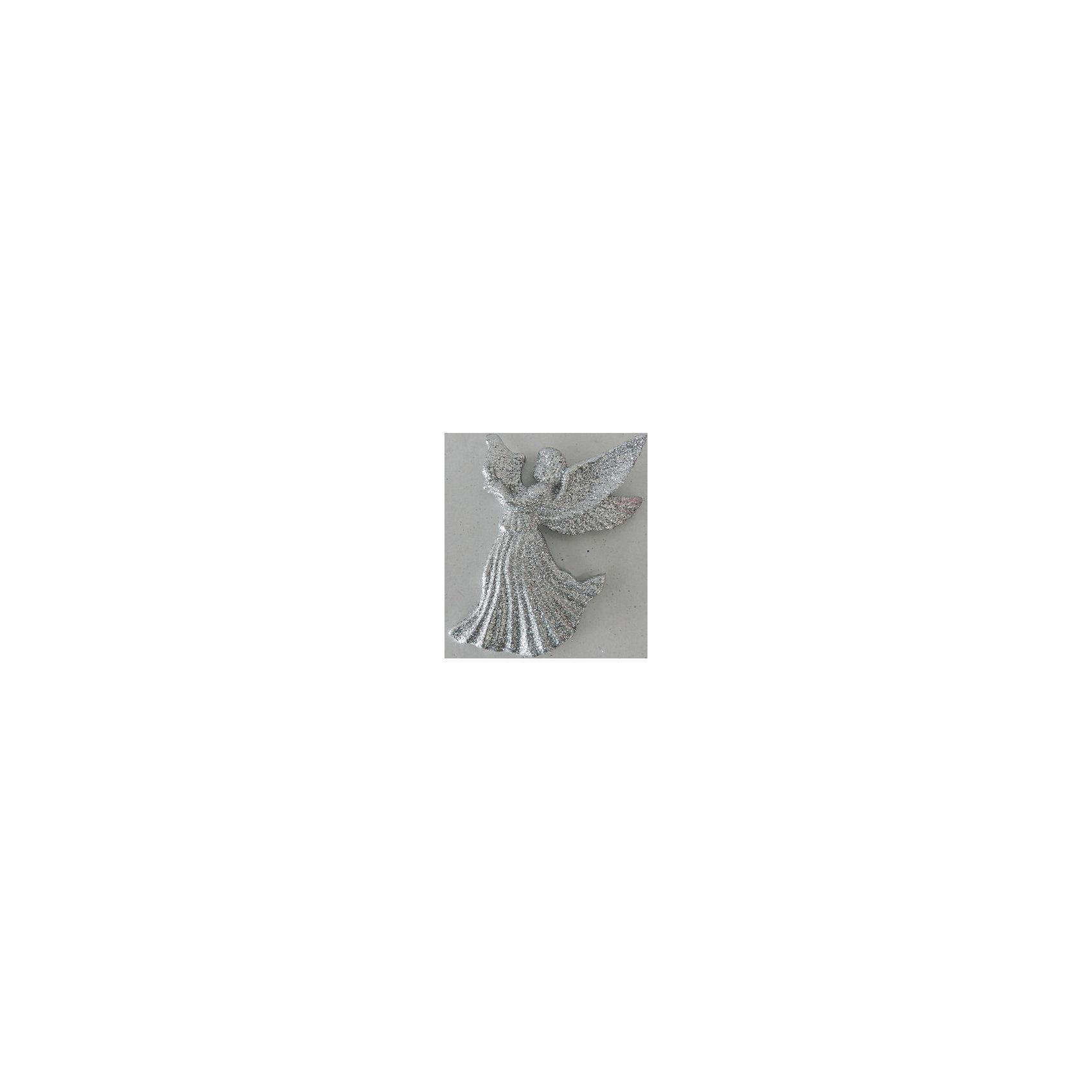 Украшение Серебряный ангелочек 11*8 смУкрашение Серебряный ангелочек 11*8 см - впустите атмосферу зимы и праздников в ваш дом! С этим декоративным украшением так весело наряжать дом и радовать близких. Украшение прекрасно подойдет не только на елочку, но и к другим поверхностям, например стенам или шторам. У снежинки имеется отверстие для тонкого шнурка, с помощью которого ее можно прикреплять. При желании можно использовать тонкую ленту. Интересный материал, из которого изготовлен ангелочек добавляет объемности и реалистичности, а блестки помогают ему просто сиять. Ангелочек не разобьется в случае падения. <br><br>Дополнительная информация:<br>- Размер: 11 * 8 см.<br>- Материал: полипропилен<br>- Объемный <br>Украшение Серебряный ангелочек 11*8 см можно купить в нашем интернет-магазине.<br>Подробнее:<br>• Для детей в возрасте: от 3 лет<br>• Номер товара: 4981457<br>Страна производитель: Китай<br><br>Ширина мм: 100<br>Глубина мм: 100<br>Высота мм: 60<br>Вес г: 51<br>Возраст от месяцев: 36<br>Возраст до месяцев: 2147483647<br>Пол: Унисекс<br>Возраст: Детский<br>SKU: 4981457