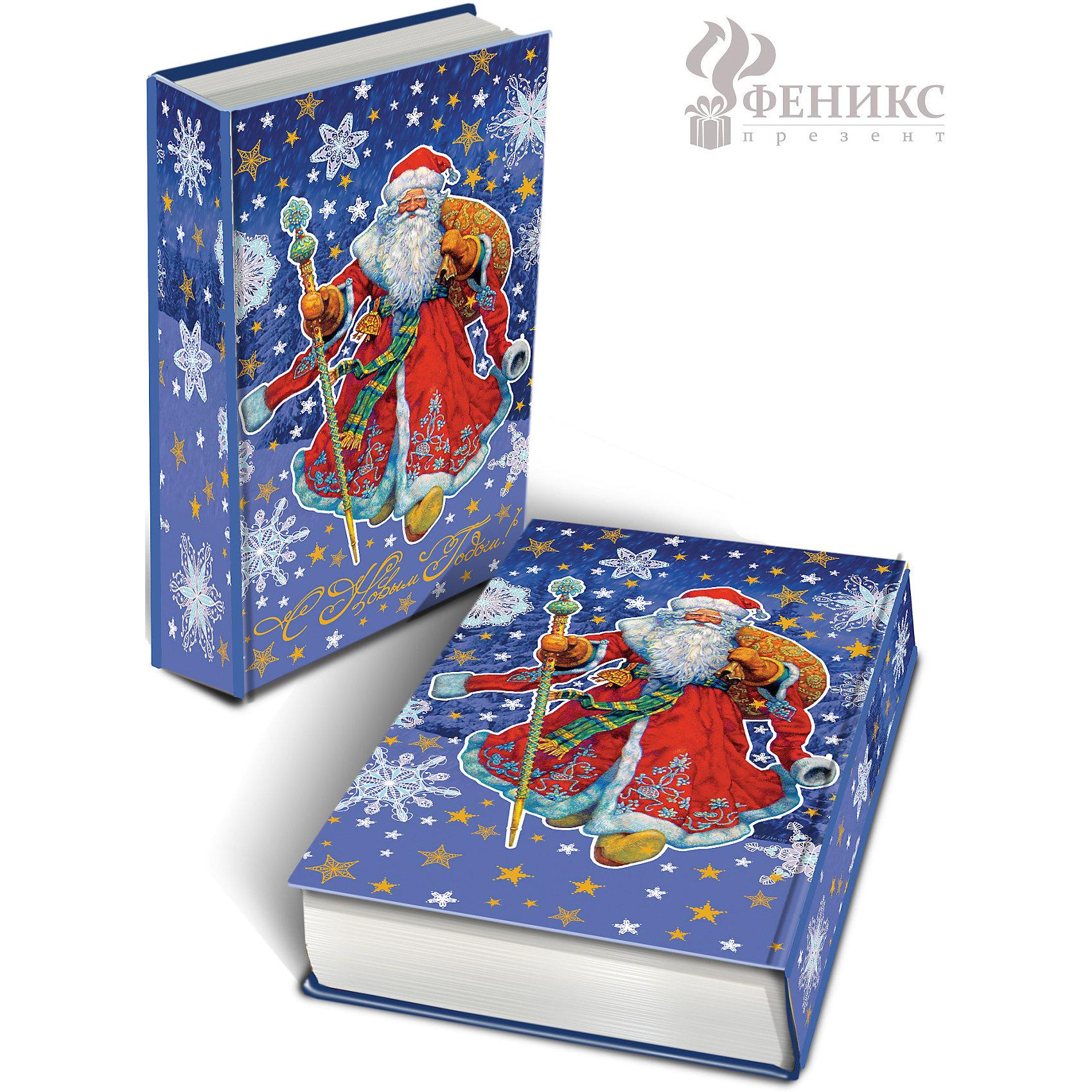 Декоративная шкатулка Дед Мороз в красном кафтане 17*11*5 смДекоративная шкатулка Дед Мороз в красном кафтане 17 * 11 * 5 см - впустите атмосферу зимы и праздников в ваш дом! С этой декоративной шкатулочкой так весело наряжать подарки и радовать близких. Шкатулочка выглядит как книга и имеет яркую обложку с цветными рисунками снежинок, звездочек и деда Мороза с подарками и посохом на ночном светло-фиолетовом фоне. На шкатулке есть золотая надпись «С Новым Годом». Устройте сюрприз вашим близким!<br><br>Дополнительная информация:<br><br>- Размер: 11 * 17 * 5 см.<br>- Материал: МДФ<br>Декоративную шкатулку Дед Мороз в красном кафтане 17 * 11 * 5 см можно купить в нашем интернет-магазине.<br>Подробнее:<br>• Для детей в возрасте: от 3 лет<br>• Номер товара: 4981483<br>Страна производитель: Китай<br><br>Ширина мм: 170<br>Глубина мм: 110<br>Высота мм: 50<br>Вес г: 400<br>Возраст от месяцев: 36<br>Возраст до месяцев: 2147483647<br>Пол: Унисекс<br>Возраст: Детский<br>SKU: 4981483
