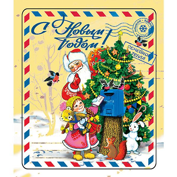 Магнит Почта Деда МорозаНовогодние сувениры<br>Магнит Почта Деда Мороза - впустите атмосферу зимы и праздников в ваш дом! С этим подарочным магнитом так весело наряжать дом и радовать близких. Небольшой прямоугольный магнитик с закругленными углами смотрится как полноценная небольшая картинка. На магните изображен дедушка Мороз и девочка, отправляющая письмо. На магните также изображена надпись «С Новым Годом» и добрые пожелания. Устройте сюрприз вашим близким!<br>Дополнительная информация:<br><br>- Размер: 5 * 6 см.<br>- Материал: агломеррированный феррит<br>Магнит Почта Деда Мороза можно купить в нашем интернет-магазине.<br>Подробнее:<br>• Для детей в возрасте: от 3 лет<br>• Номер товара: 4981497<br>Страна производитель: Китай<br><br>Ширина мм: 100<br>Глубина мм: 100<br>Высота мм: 10<br>Вес г: 150<br>Возраст от месяцев: 36<br>Возраст до месяцев: 2147483647<br>Пол: Унисекс<br>Возраст: Детский<br>SKU: 4981497