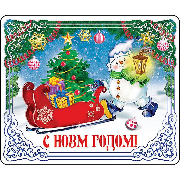 Магнит Снеговик с фонаремНовогодние сувениры<br>Магнит Снеговик с фонарем - впустите атмосферу зимы и праздников в ваш дом! С этим подарочным магнитом так весело наряжать дом и радовать близких. Небольшой прямоугольный магнитик с закругленными углами смотрится как полноценная небольшая картинка. На магните изображен озорной снеговичок с фонариком и санями, полными подарков для детишек. Устройте сюрприз вашим близким!<br>Дополнительная информация:<br><br>- Размер: 5 * 6 см.<br>- Материал: агломеррированный феррит<br>Магнит Снеговик с фонарем можно купить в нашем интернет-магазине.<br>Подробнее:<br>• Для детей в возрасте: от 3 лет<br>• Номер товара: 4981499<br>Страна производитель: Китай<br><br>Ширина мм: 100<br>Глубина мм: 100<br>Высота мм: 10<br>Вес г: 150<br>Возраст от месяцев: 36<br>Возраст до месяцев: 2147483647<br>Пол: Унисекс<br>Возраст: Детский<br>SKU: 4981499