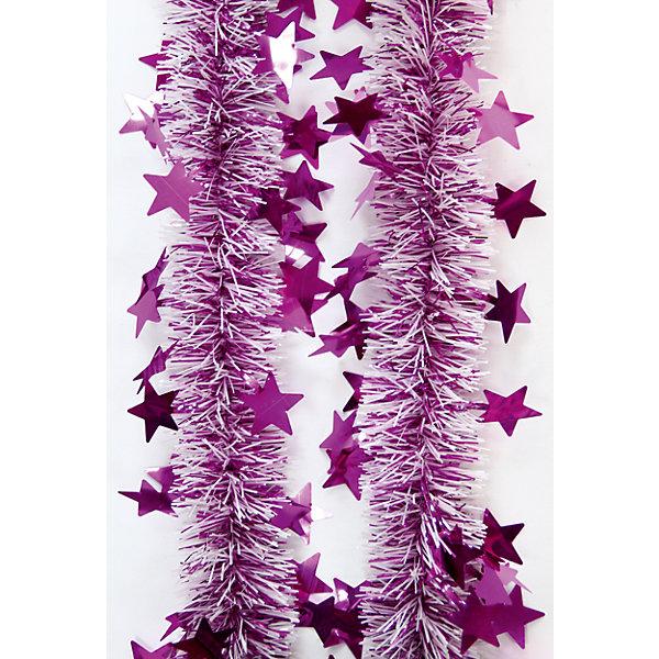 Мишура Розовый 6*200 смНовогодняя мишура и бусы<br>Мишура Розовый 6*200 см – этот новогодний аксессуар принесет в ваш дом ни с чем несравнимое ощущение праздника!<br>Пушистая новогодняя мишура розового цвета, декорированная звездочками, поможет вам украсить свой дом к предстоящим праздникам. Мишурой можно украсить все, что угодно - елку, квартиру, дачу, офис - как внутри, так и снаружи. Можно сложить новогодние поздравления, буквы и цифры, дополнить гирлянды, выделить дверные колонны или оплести дверные проемы. Искрящаяся мишура создаст множество ярких бликов, наполнит дом атмосферой волшебства и магии!<br><br>Дополнительная информация:<br><br>- Размер: 6х200 см.<br>- Материал: ПЭТ (полиэтилентерефталат)<br>- Цвет: розовый<br><br>Мишуру Розовый 6*200 см можно купить в нашем интернет-магазине.<br><br>Ширина мм: 100<br>Глубина мм: 100<br>Высота мм: 60<br>Вес г: 620<br>Возраст от месяцев: 36<br>Возраст до месяцев: 2147483647<br>Пол: Унисекс<br>Возраст: Детский<br>SKU: 4981508