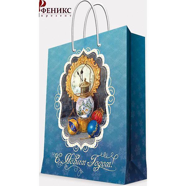 Подарочный пакет Новогодняя лампа 17,8*22,9*9,8 смУпаковка новогоднего подарка<br>Подарочный пакет Новогодняя лампа 17,8*22,9*9,8 см - этот яркий аксессуар станет достойным украшением новогоднего подарка.<br>Подарочный пакет Новогодняя лампа XS поможет красиво оформить новогодний подарок для родных и друзей. Яркий пакет с изображением новогодней лампы, елочных шаров и часов, которые вот-вот пробьют полночь, сделает Ваш подарок эффектным и запоминающимся. Пакет с ламинацией выполнен из плотной бумаги, имеет широкое основание. Для удобной переноски предусмотрены две ручки.<br><br>Дополнительная информация:<br><br>- Размер: 17,8х22,9х9,8 см.<br>- Ширина основания: 17,8 см.<br>- Материал: бумага<br>- Плотность бумаги: 140 г/м2<br><br>Подарочный пакет Новогодняя лампа 17,8*22,9*9,8 см можно купить в нашем интернет-магазине.<br>Ширина мм: 178; Глубина мм: 229; Высота мм: 98; Вес г: 390; Возраст от месяцев: 36; Возраст до месяцев: 2147483647; Пол: Унисекс; Возраст: Детский; SKU: 4981509;