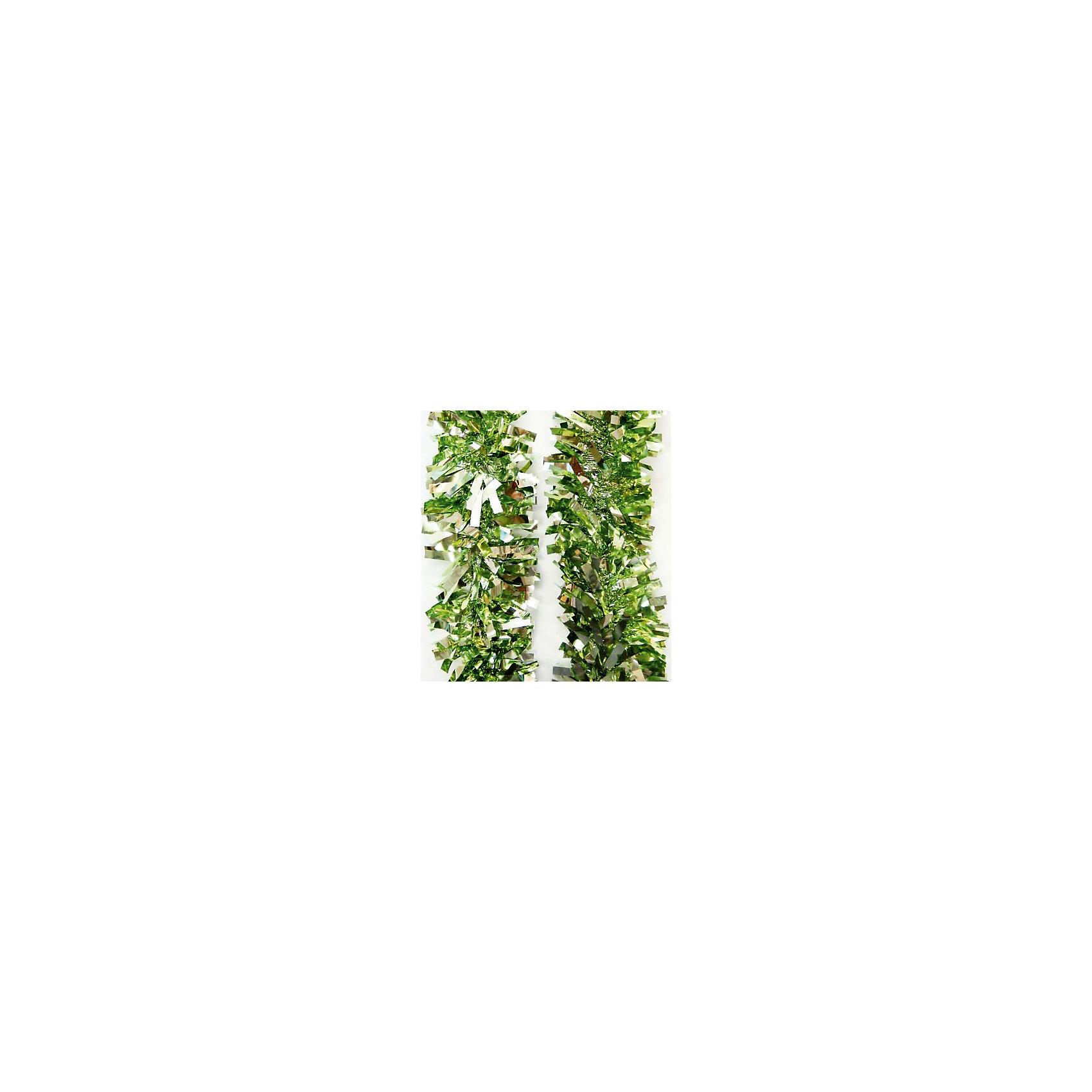 Мишура 9*200 смМишура 9*200 см - этот новогодний аксессуар принесет в ваш дом ни с чем несравнимое ощущение праздника!<br>Мишура станет замечательным украшением Вашей новогодней елки или интерьера и поможет создать праздничную волшебную атмосферу. Мишура зеленого цвета с серебристыми вставками имеет проволоку внутри и способна сохранять приданную ей форму. Она будет чудесно смотреться на елке, и радовать детей и взрослых.<br><br>Дополнительная информация:<br><br>- Размер: 9х200 см.<br>- Материал: ПЭТ (полиэтилентерефталат)<br>- Цвет: зеленый, серебристый<br><br>Мишуру 9*200 см можно купить в нашем интернет-магазине.<br><br>Ширина мм: 100<br>Глубина мм: 100<br>Высота мм: 60<br>Вес г: 500<br>Возраст от месяцев: 36<br>Возраст до месяцев: 2147483647<br>Пол: Унисекс<br>Возраст: Детский<br>SKU: 4981530