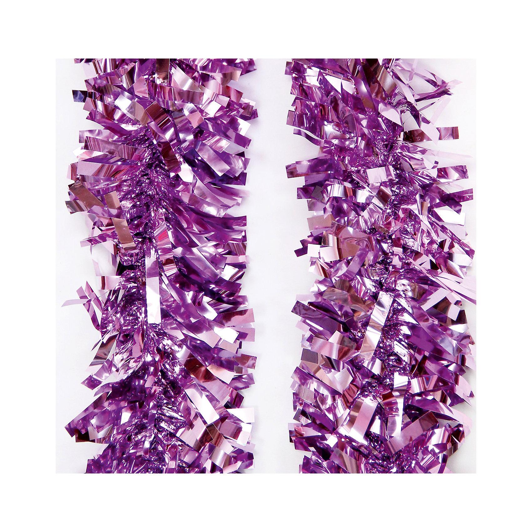Magic Time Мишура 9*200 см мишура новогодняя magic time цвет золотистый диаметр 6 см длина 200 см 75763