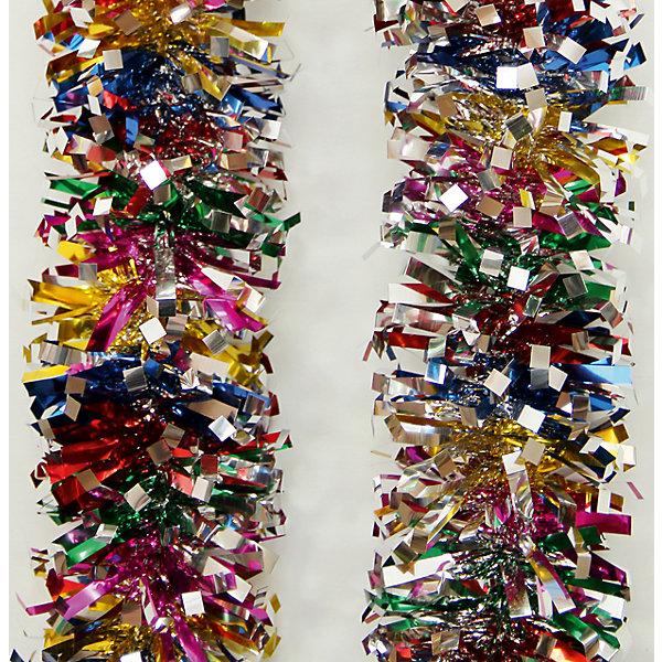 Мишура 9*200 смНовогодняя мишура и бусы<br>Мишура 9*200 см - этот новогодний аксессуар принесет в ваш дом ни с чем несравнимое ощущение праздника!<br>Мишура станет замечательным украшением Вашей новогодней елки или интерьера и поможет создать праздничную волшебную атмосферу. Разноцветная мишура имеет проволоку внутри и способна сохранять приданную ей форму. Она будет чудесно смотреться на елке, и радовать детей и взрослых.<br><br>Дополнительная информация:<br><br>- Размер: 9х200 см.<br>- Материал: ПЭТ (полиэтилентерефталат)<br>- Цвет: красный, синий, зеленый, серебристый<br><br>Мишуру 9*200 см можно купить в нашем интернет-магазине.<br>Ширина мм: 100; Глубина мм: 100; Высота мм: 60; Вес г: 600; Возраст от месяцев: 36; Возраст до месяцев: 2147483647; Пол: Унисекс; Возраст: Детский; SKU: 4981533;